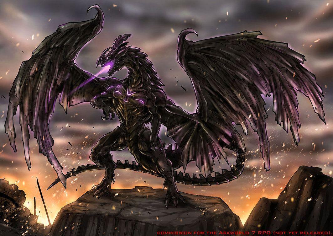 Epic Black Dragon Wallpapers Top Free Epic Black Dragon