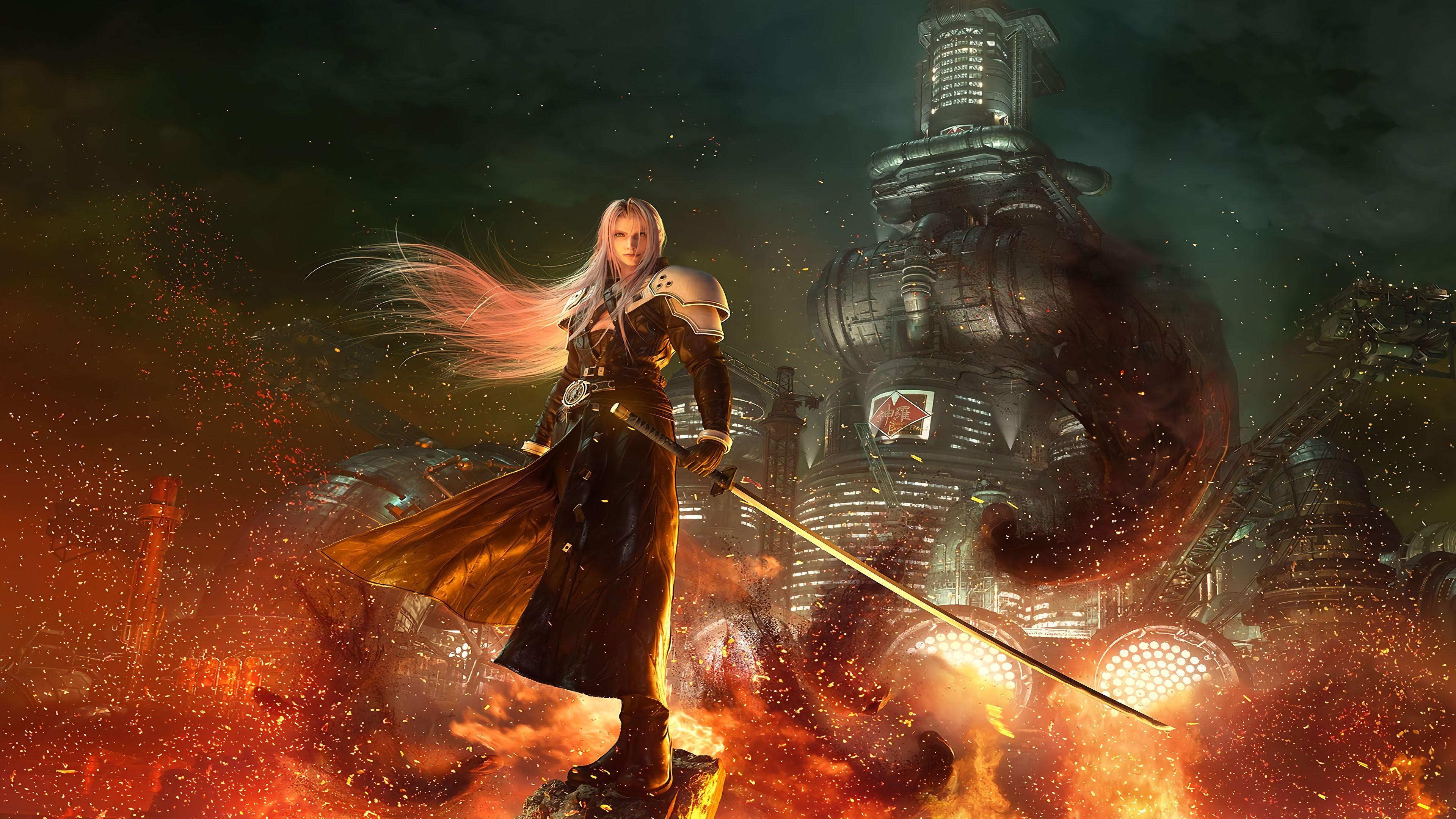 Final Fantasy 4k Wallpapers Top Free Final Fantasy 4k