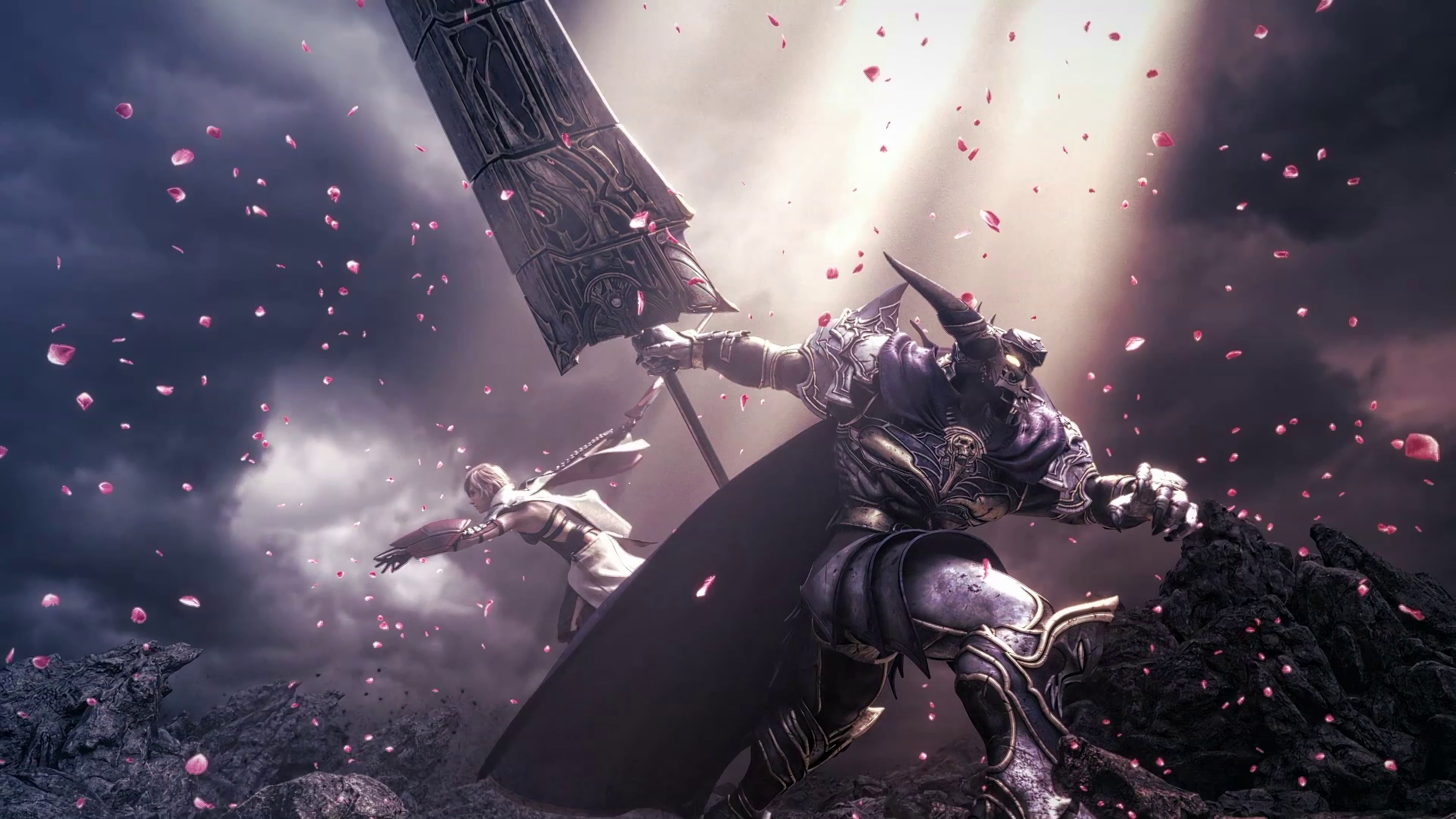 Final Fantasy 4k Wallpapers Top Free Final Fantasy 4k Backgrounds Wallpaperaccess