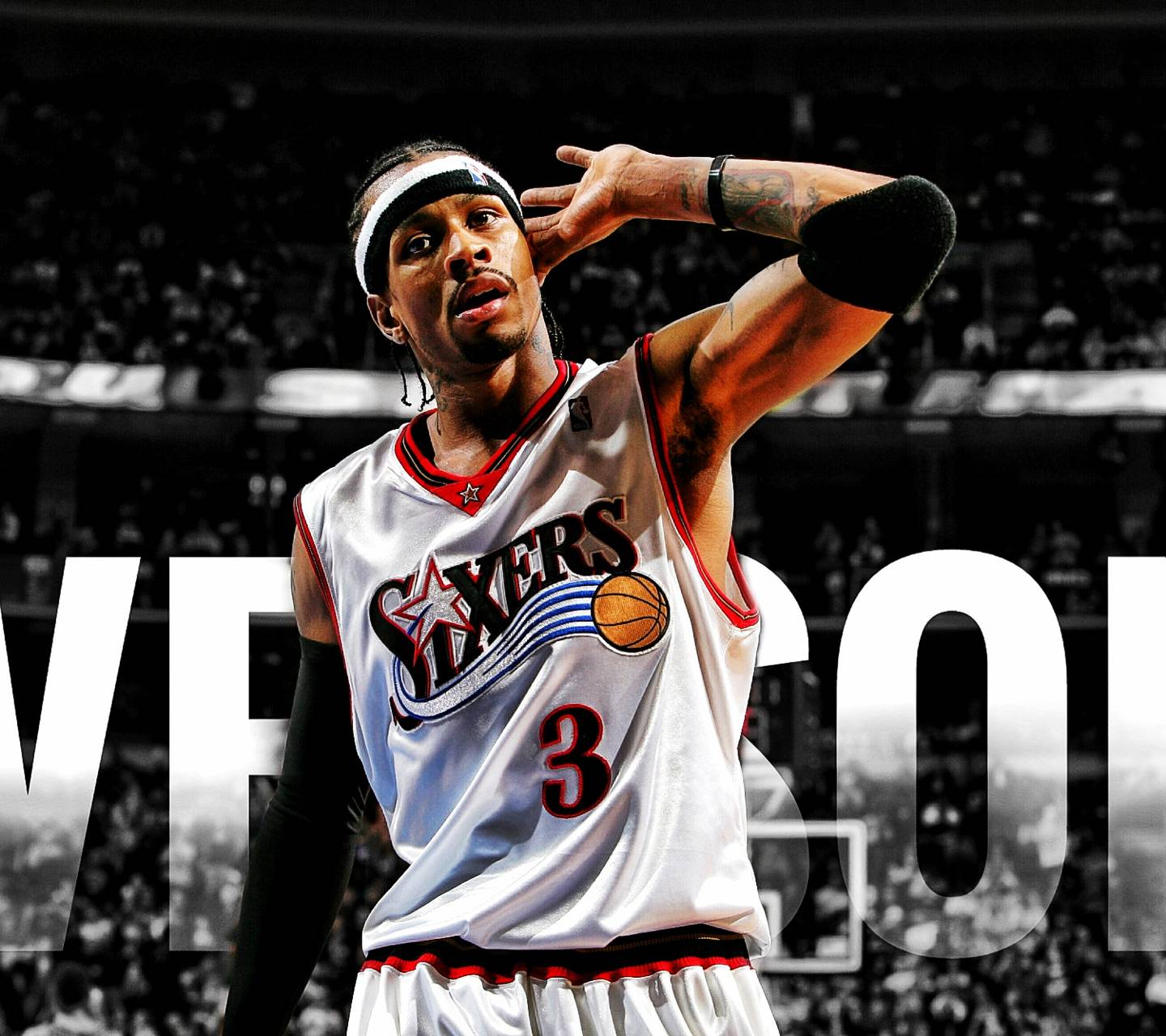 Allen Iverson Wallpapers Top Free Allen Iverson Backgrounds Wallpaperaccess