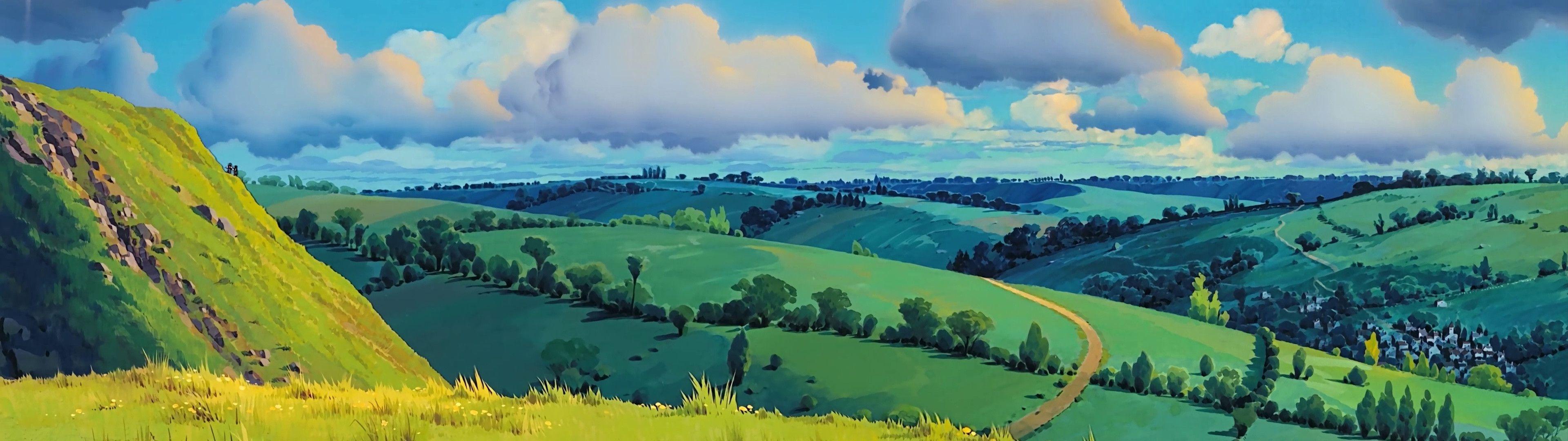 Studio Ghibli 3840 X 1080 Wallpapers - Top Free Studio ...