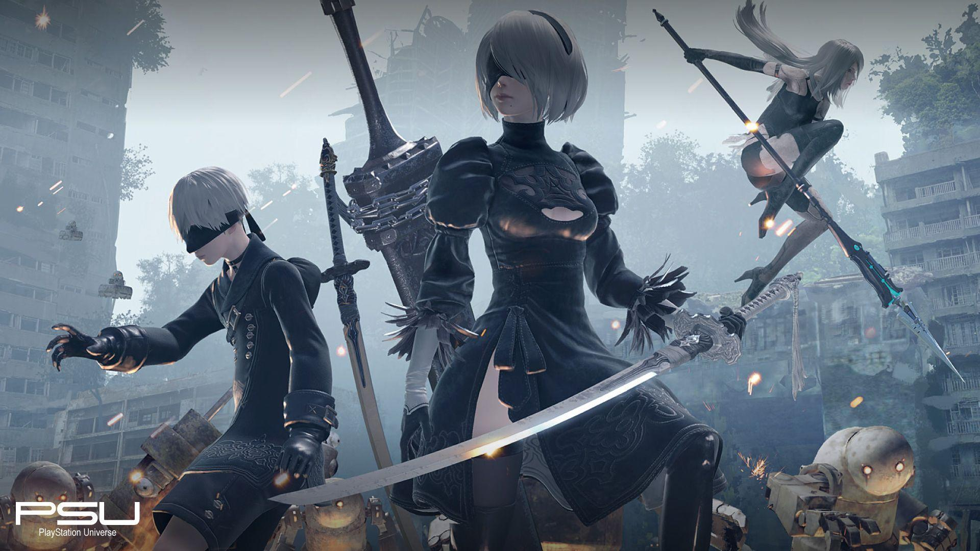 Nier Automata Wallpapers Top Free Nier Automata Backgrounds