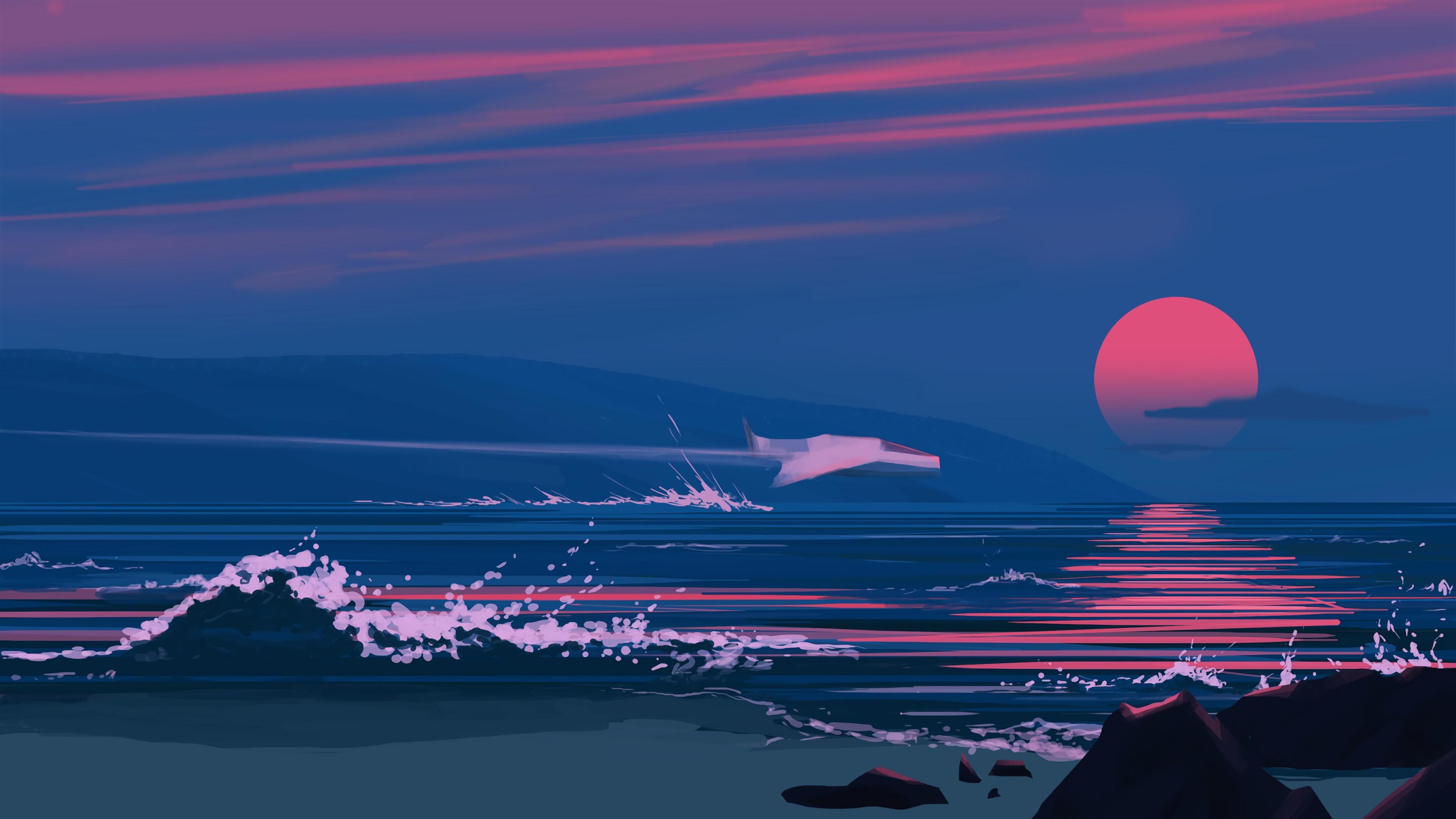 Minimalist Beach Wallpapers - Top Free Minimalist Beach ...