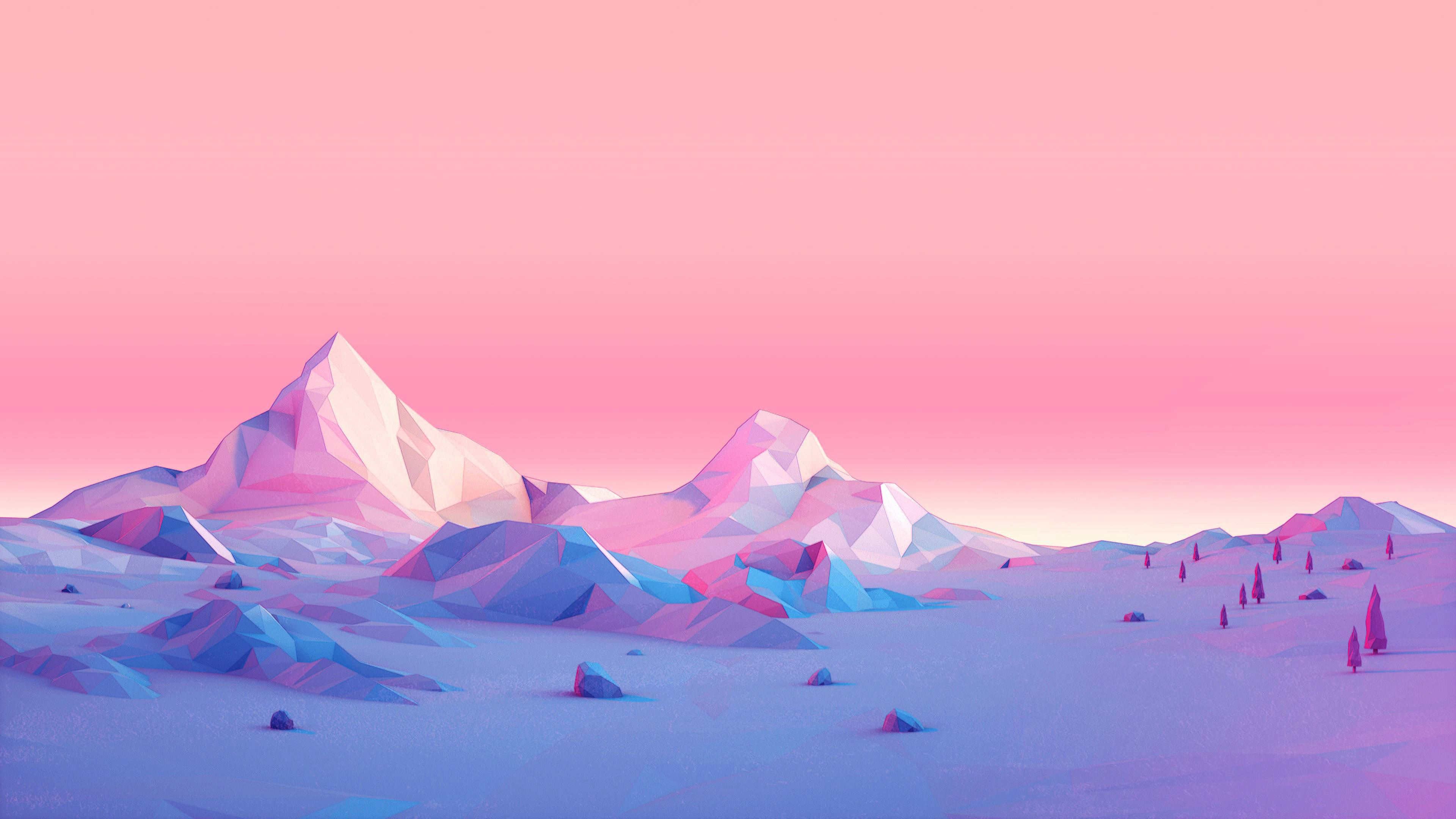Minimalist Pink Wallpapers Top Free Minimalist Pink Backgrounds Wallpaperaccess