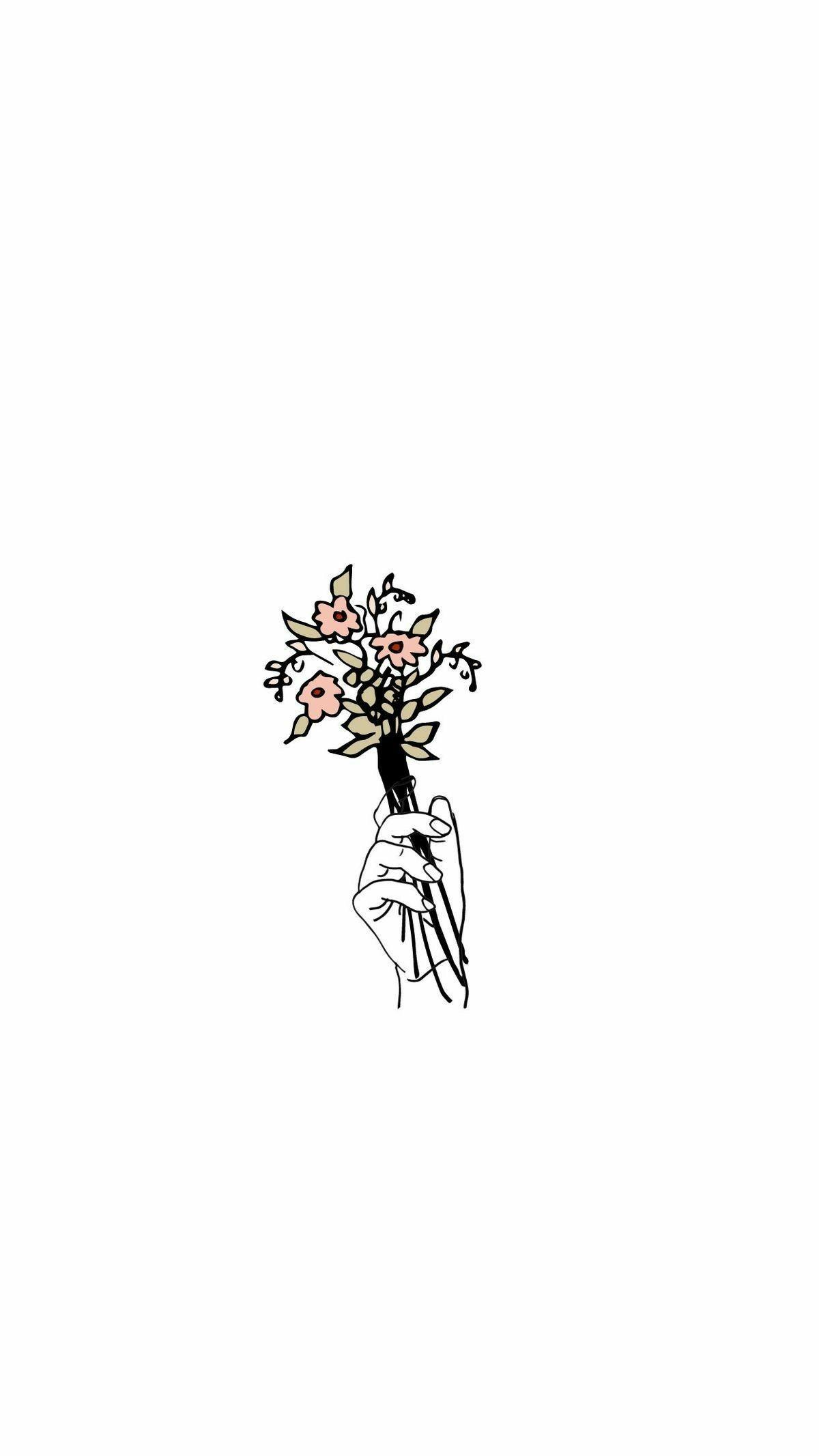 Minimalist Flower Wallpapers Top Free Minimalist Flower