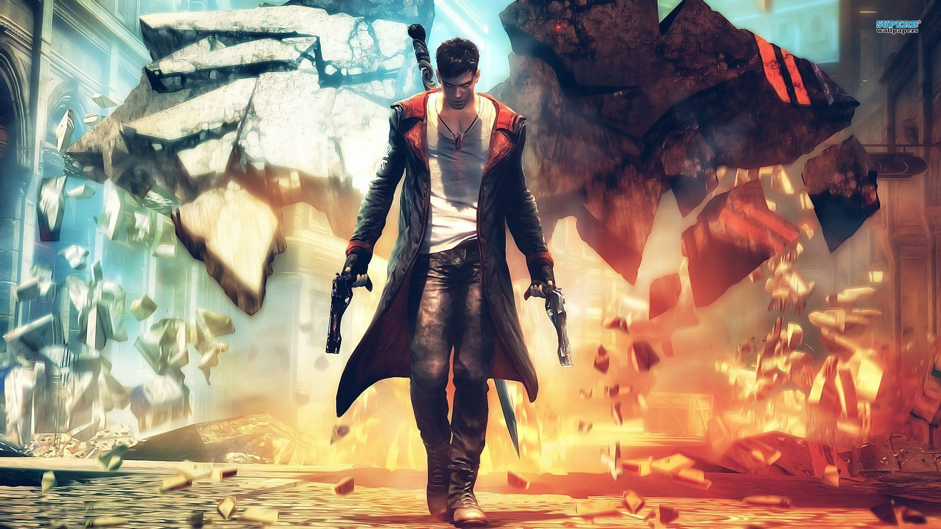 Dmc Devil May Cry Wallpapers Top Free Dmc Devil May Cry