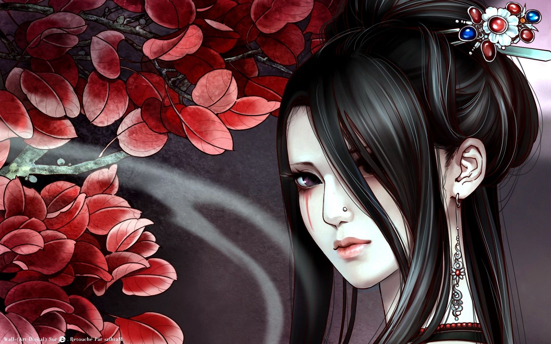 "1920x1200 Anime Geisha wallpaper"">"