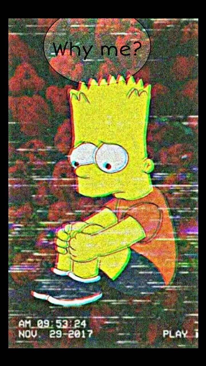 Bart Simpson Heartbroken Wallpapers Top Free Bart Simpson Heartbroken Backgrounds Wallpaperaccess