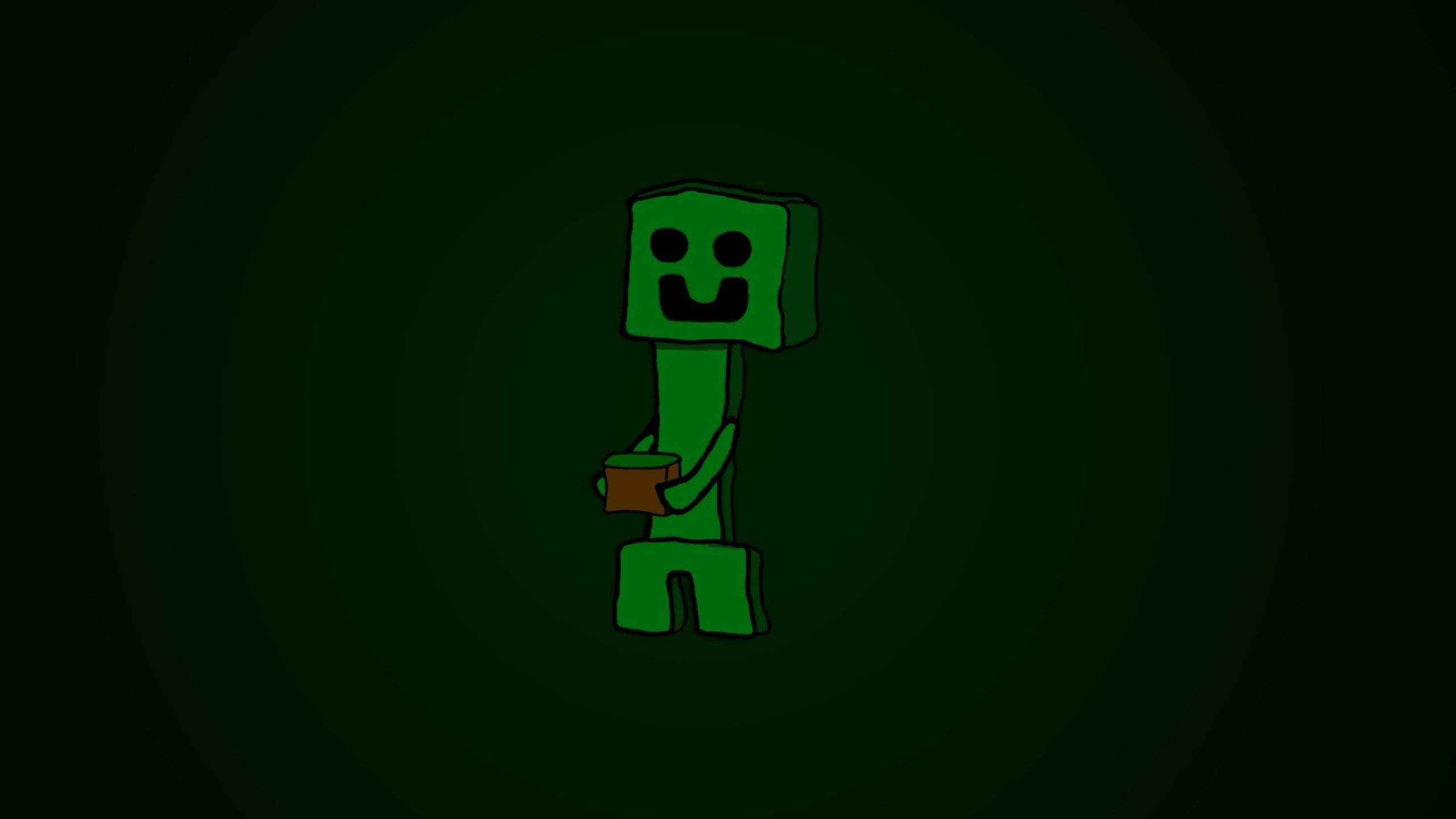 Minecraft Creeper Wallpapers Top Free Minecraft Creeper Backgrounds Wallpaperaccess