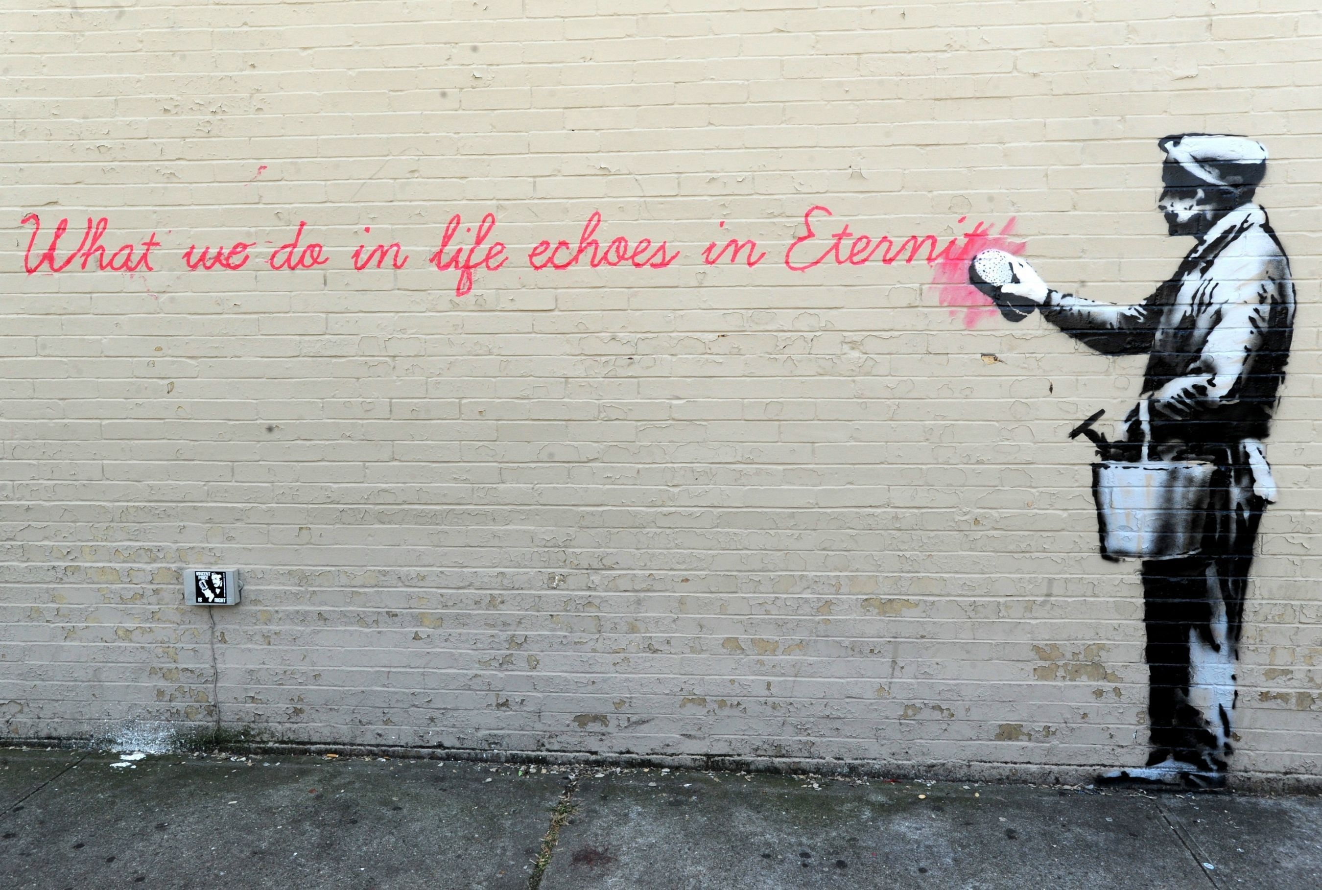 Banksy Wallpapers Top Free Banksy Backgrounds Wallpaperaccess