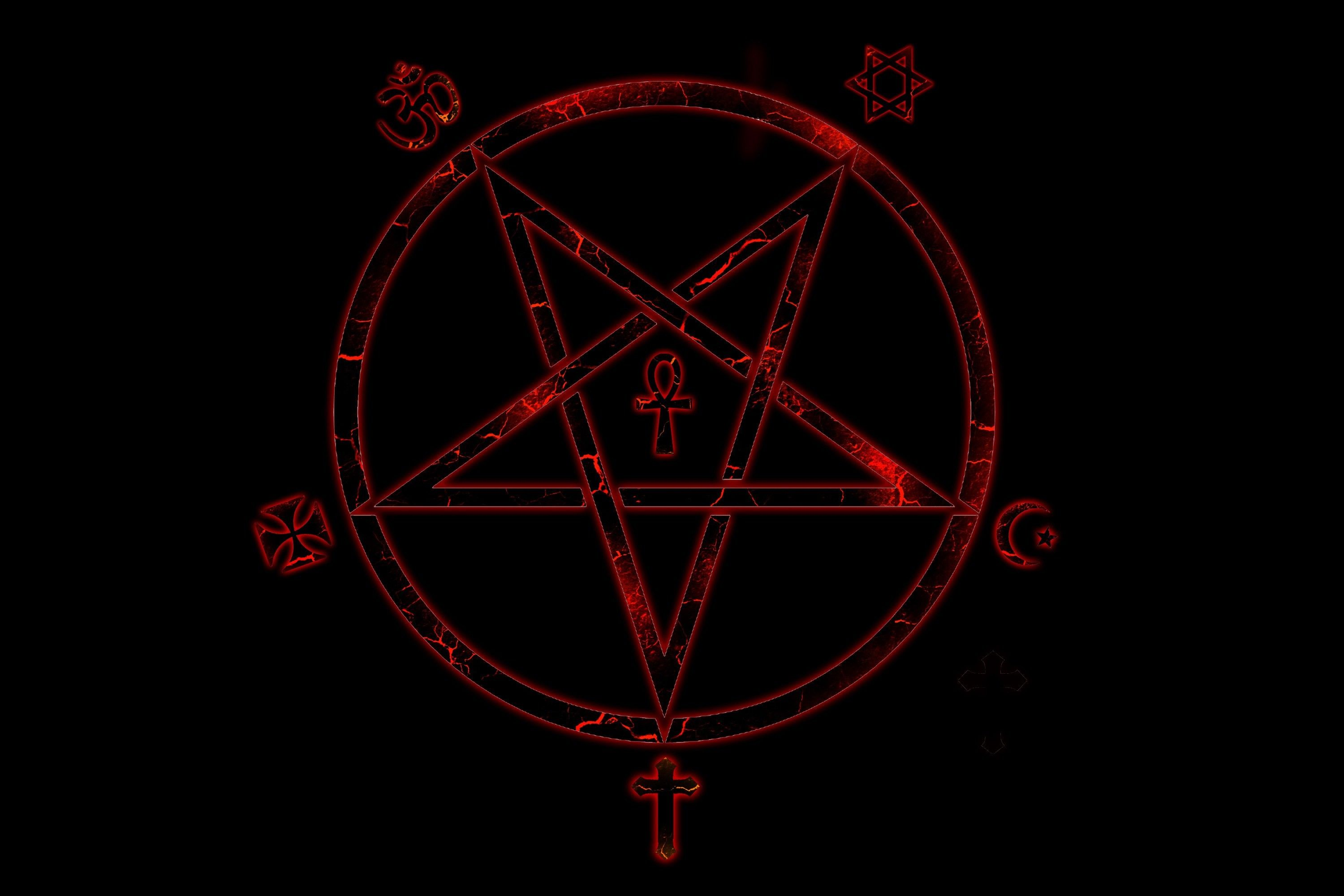 dark, Landscape, Pentagram Wallpapers HD / Desktop and ... |Pentagram Wallpaper Uhd