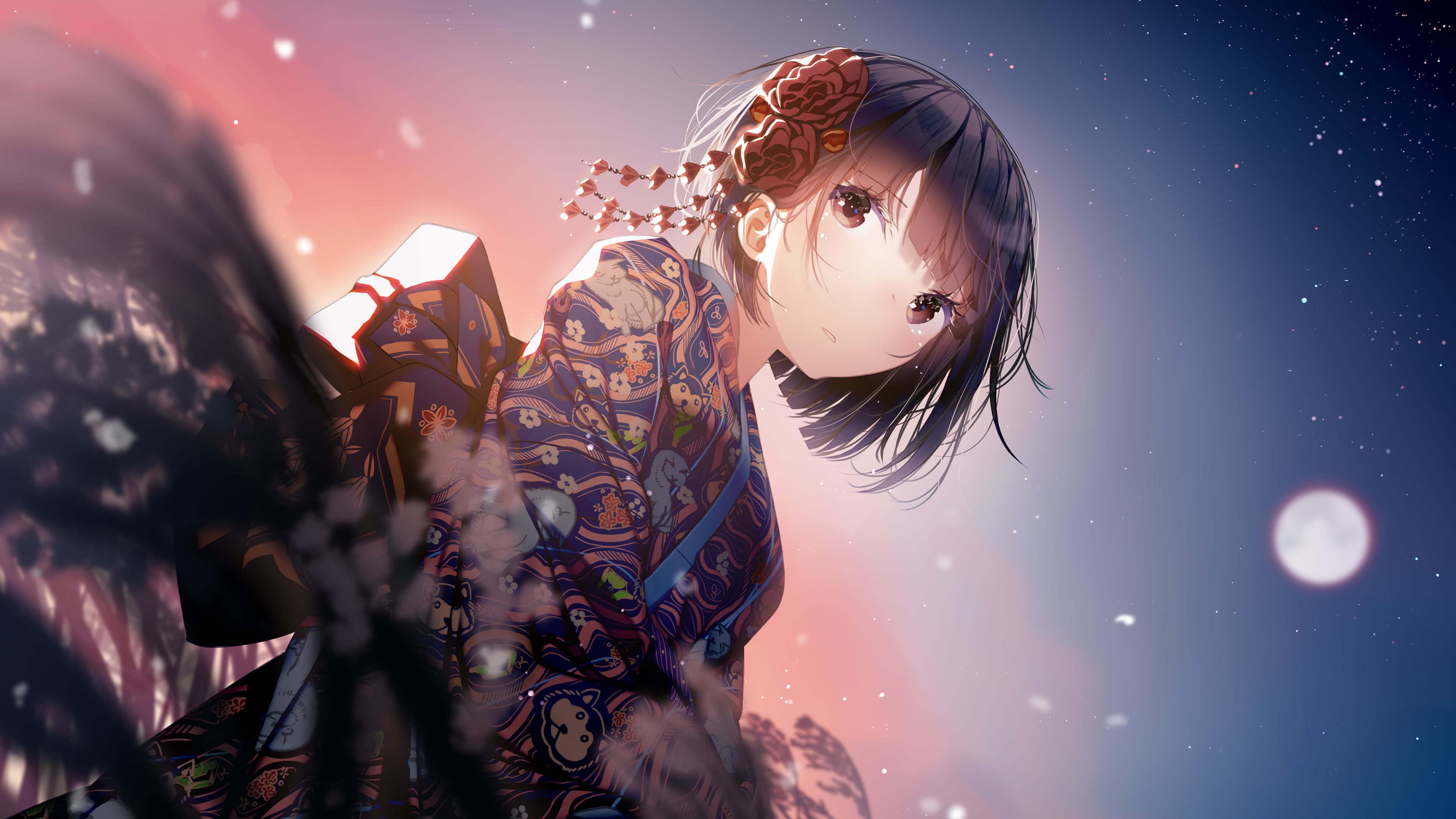4k Anime Girl Wallpapers Top Free 4k Anime Girl Backgrounds Wallpaperaccess