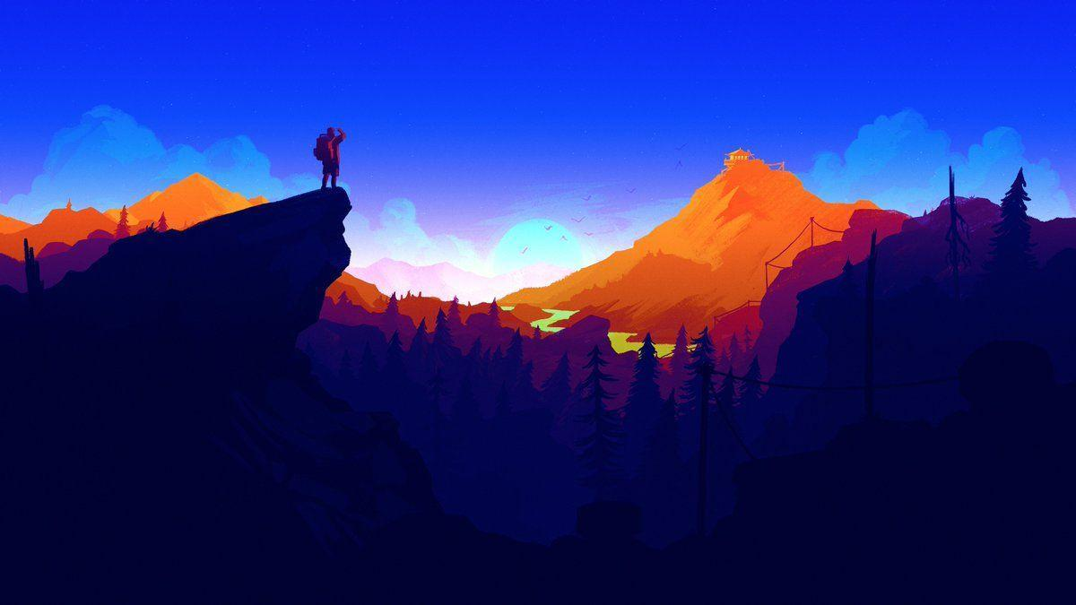 Firewatch Wallpapers Top Free Firewatch Backgrounds