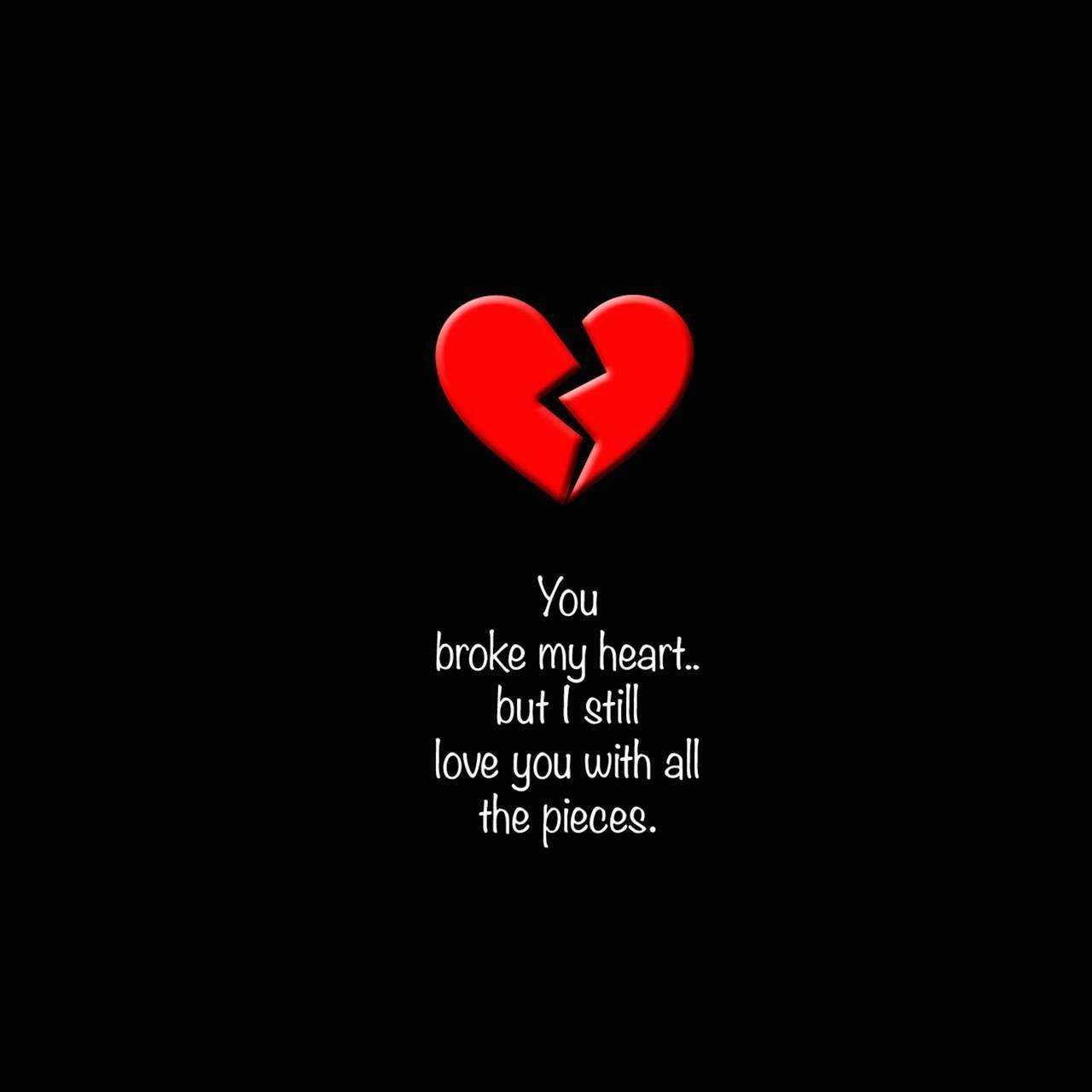 Love Wallpaper Broken Heart