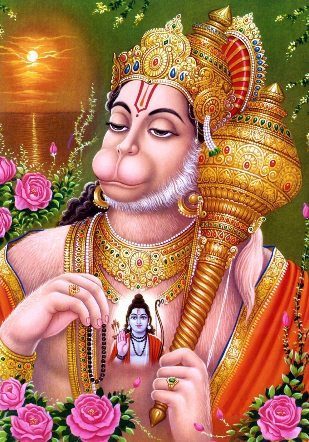 God Hanuman Wallpapers Top Free God Hanuman Backgrounds Wallpaperaccess