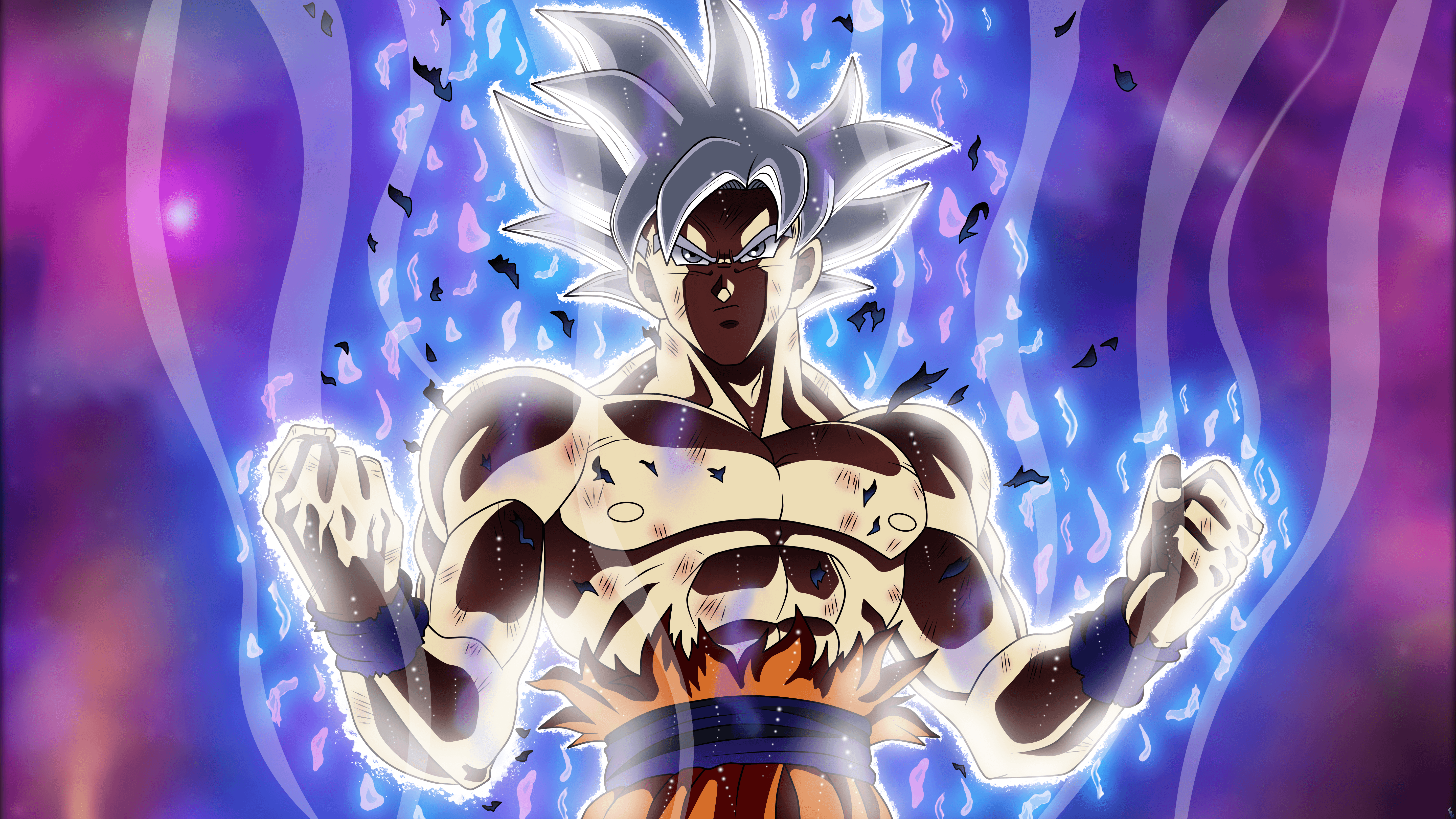 Mastered Ultra Instinct Wallpapers