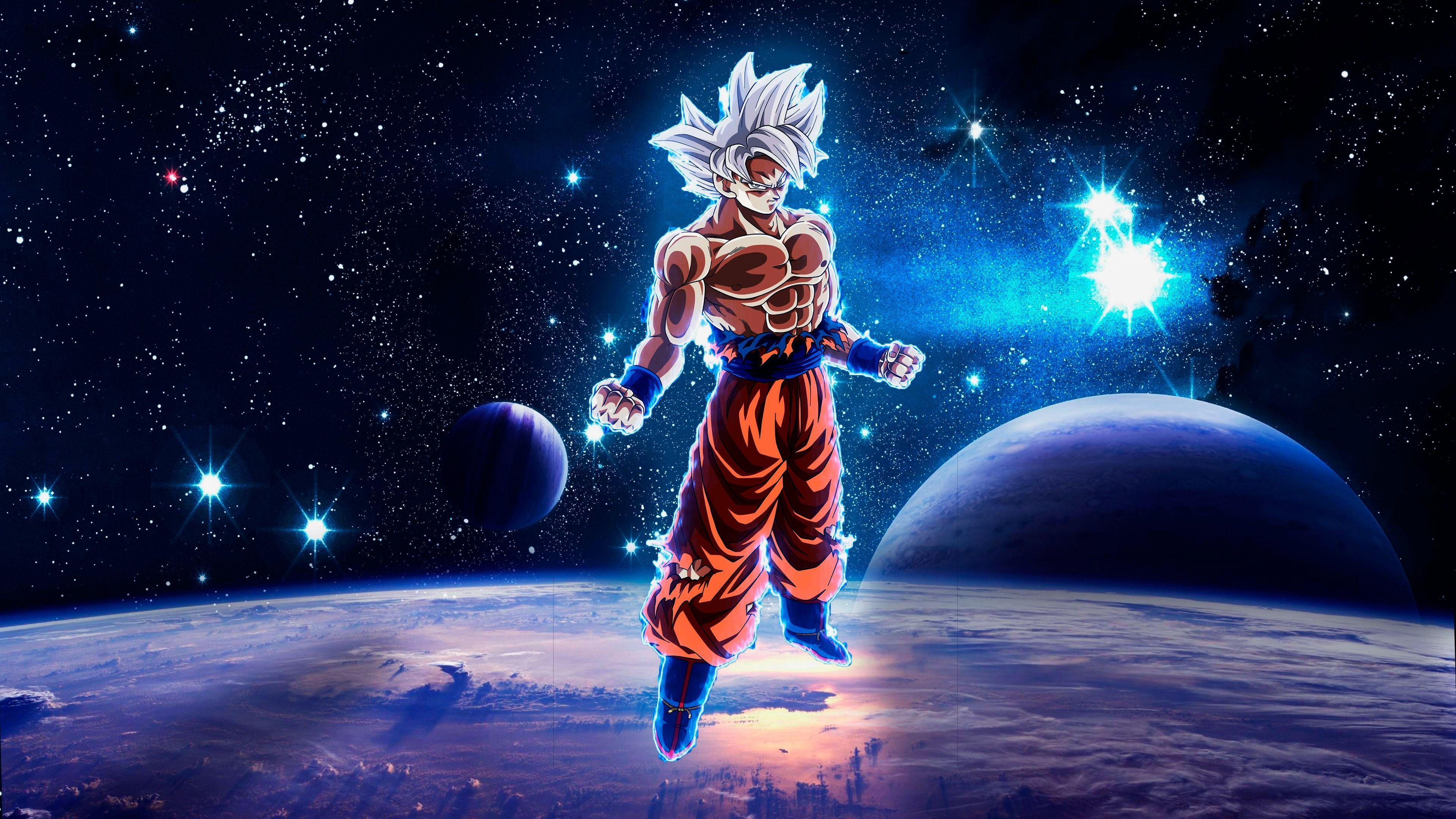 4k Goku Wallpapers Top Free 4k Goku Backgrounds Wallpaperaccess