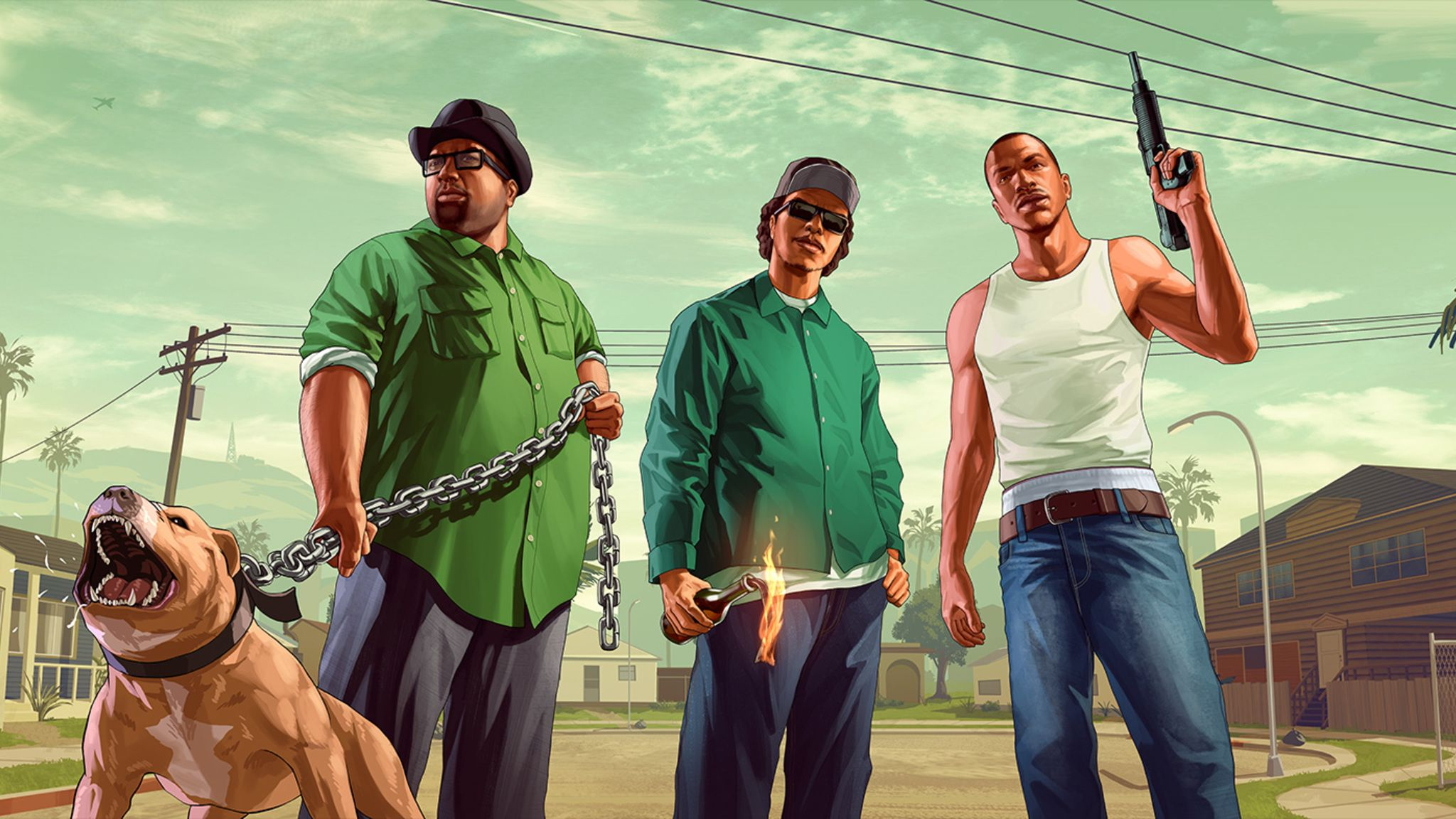 San Andreas Wallpapers Top Free San Andreas Backgrounds