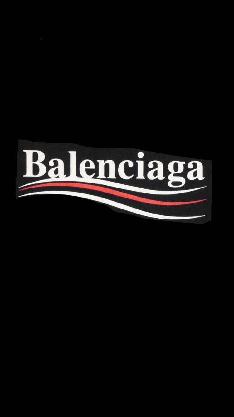Balenciaga Logo Wallpapers Top Free Balenciaga Logo Backgrounds Wallpaperaccess