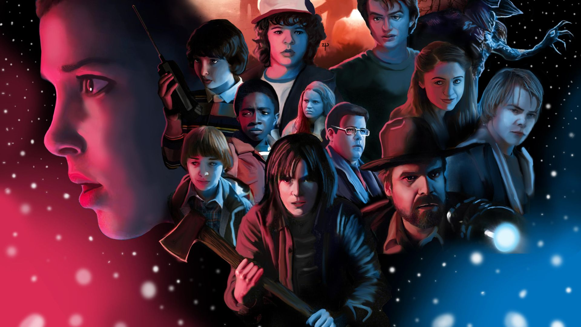 Stranger Things Season 3 Wallpapers Top Free Stranger