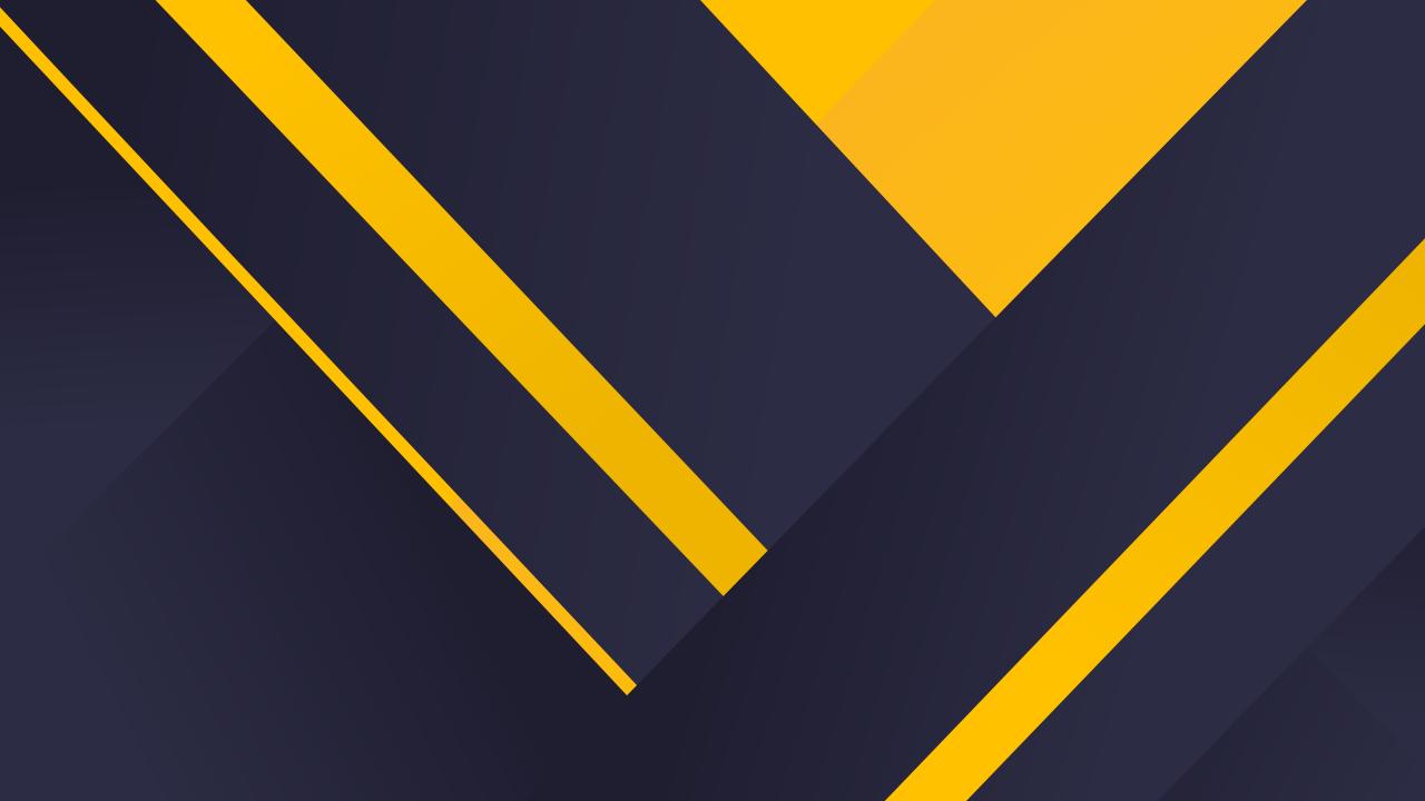 Chất liệu hình nền 1280x720, Nền tối, Màu vàng, Tối thiểu