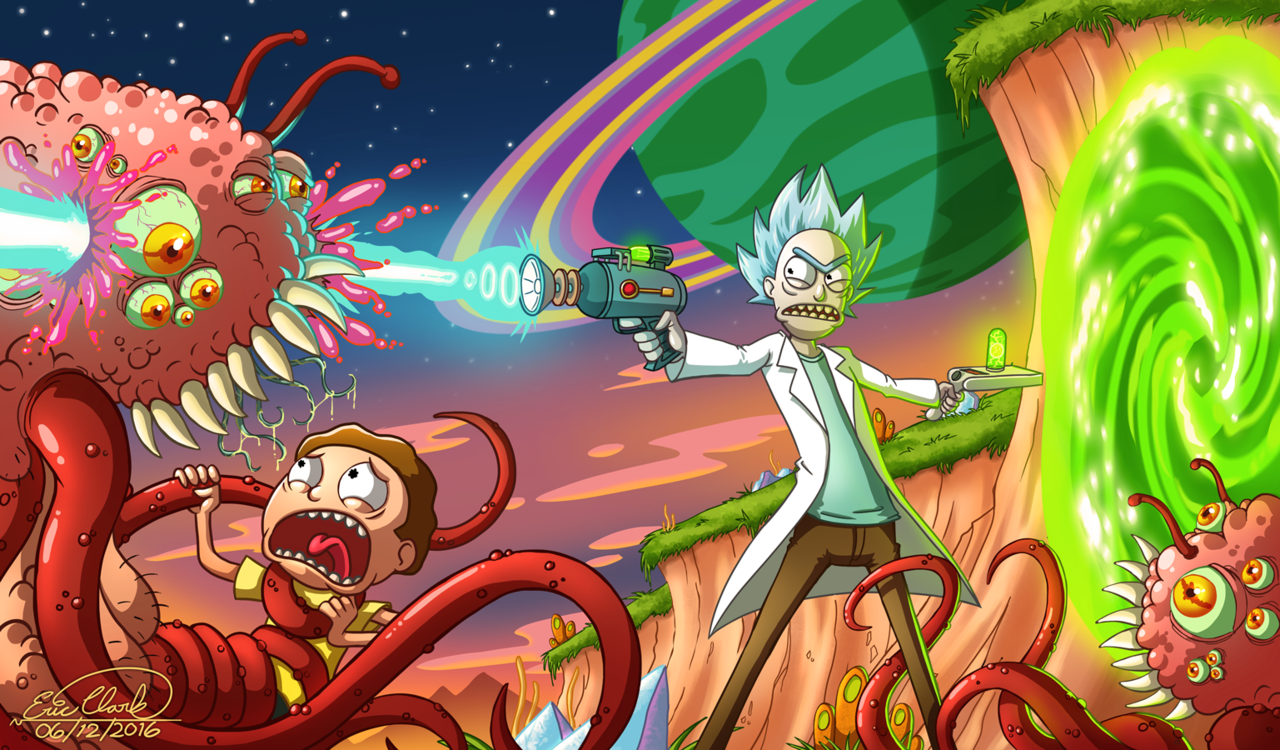 Rick And Morty Computer Wallpapers Top Free Rick And Morty