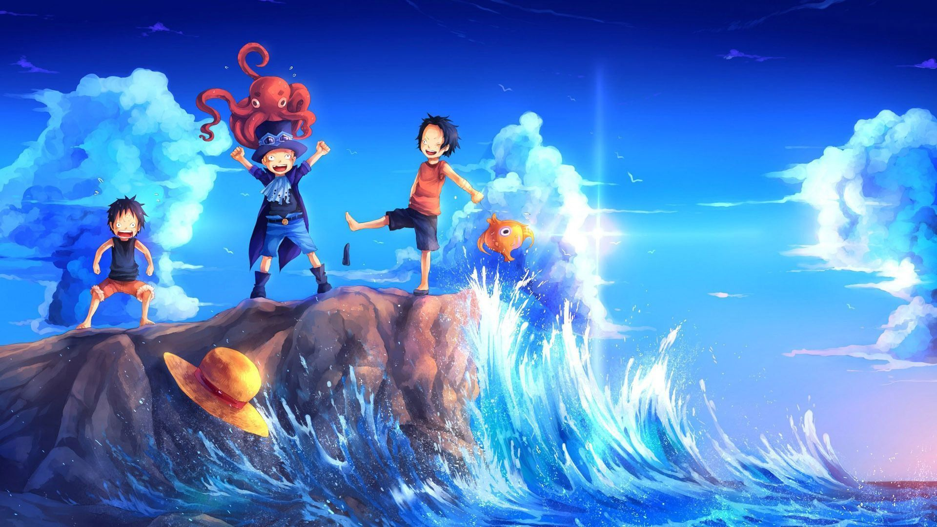 One Piece New World Wallpapers Top Free One Piece New World Backgrounds Wallpaperaccess