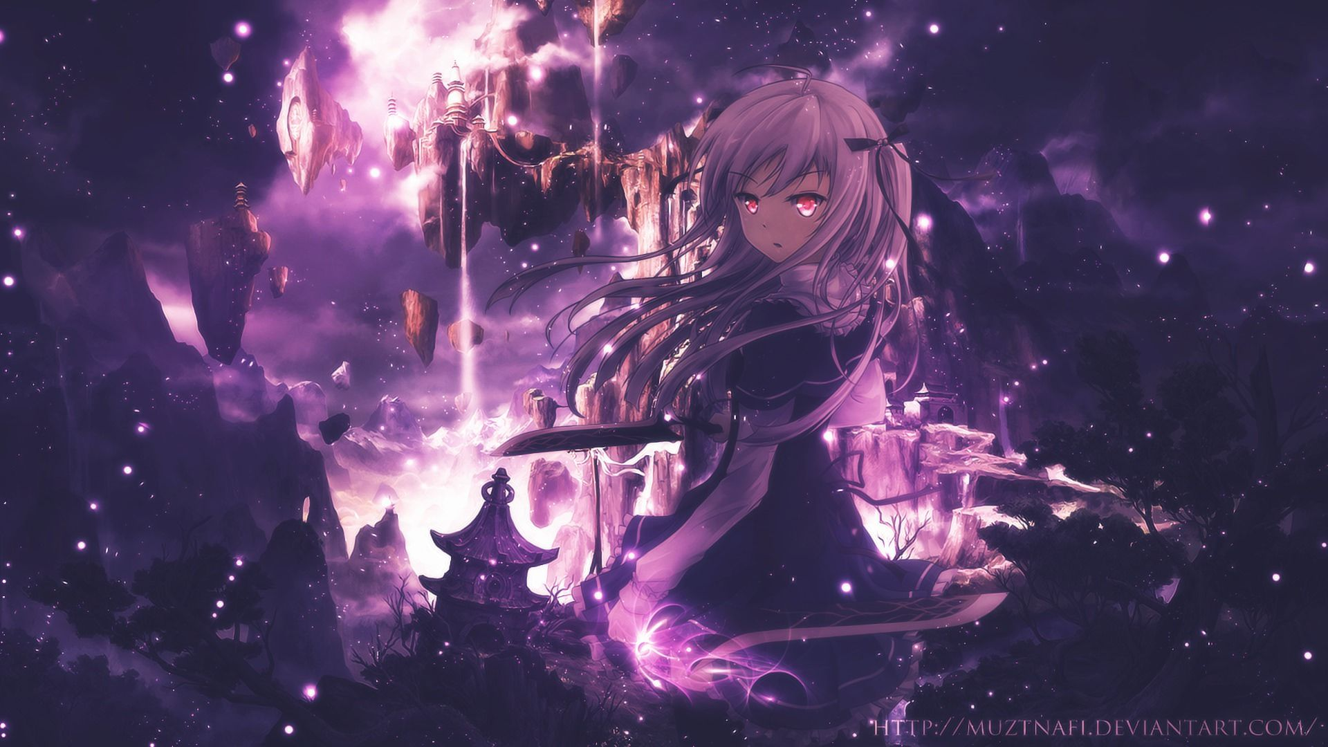 Purple Anime Wallpapers Top Free Purple Anime Backgrounds