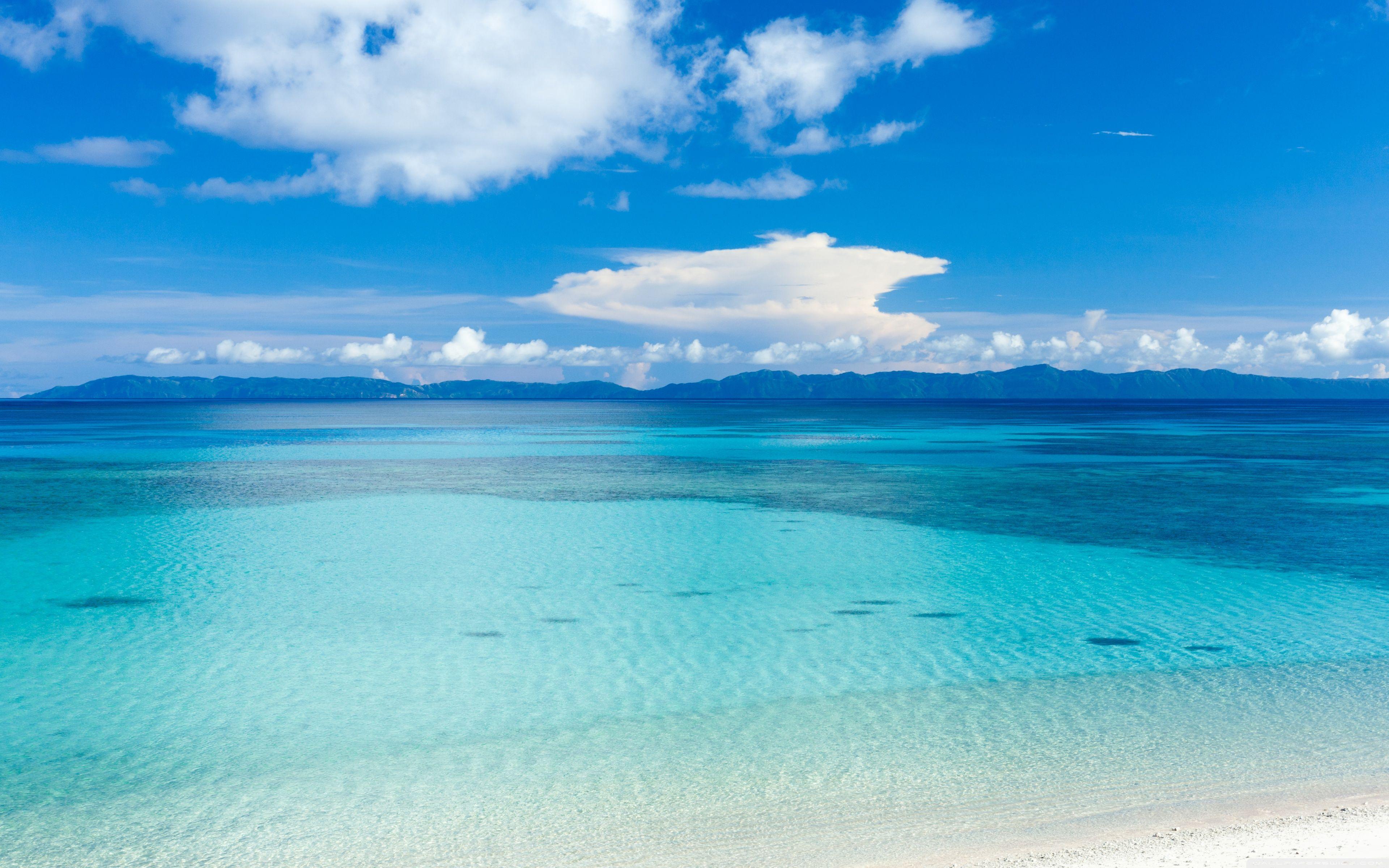 3840x2400 Island Beach View Toàn cảnh ❤ Hình nền máy tính để bàn HD 4K