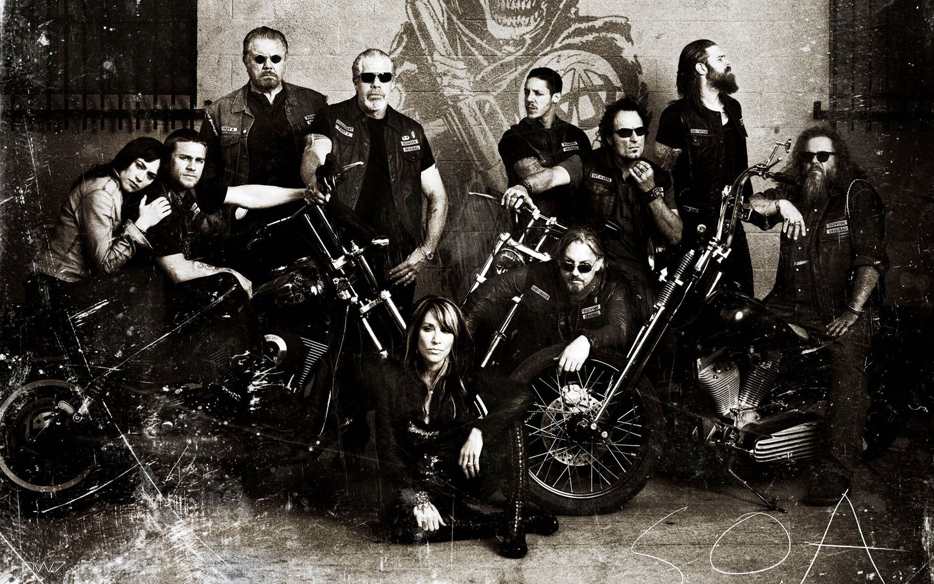 Sons Of Anarchy Wallpapers Top Free Sons Of Anarchy