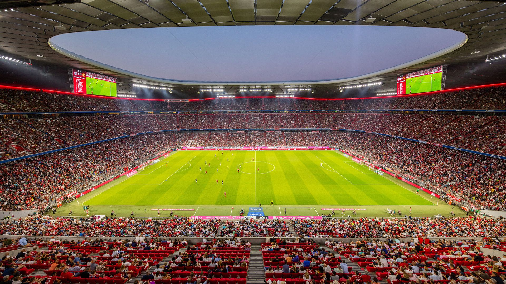 Allianz Arena Wallpapers Top Free Allianz Arena Backgrounds