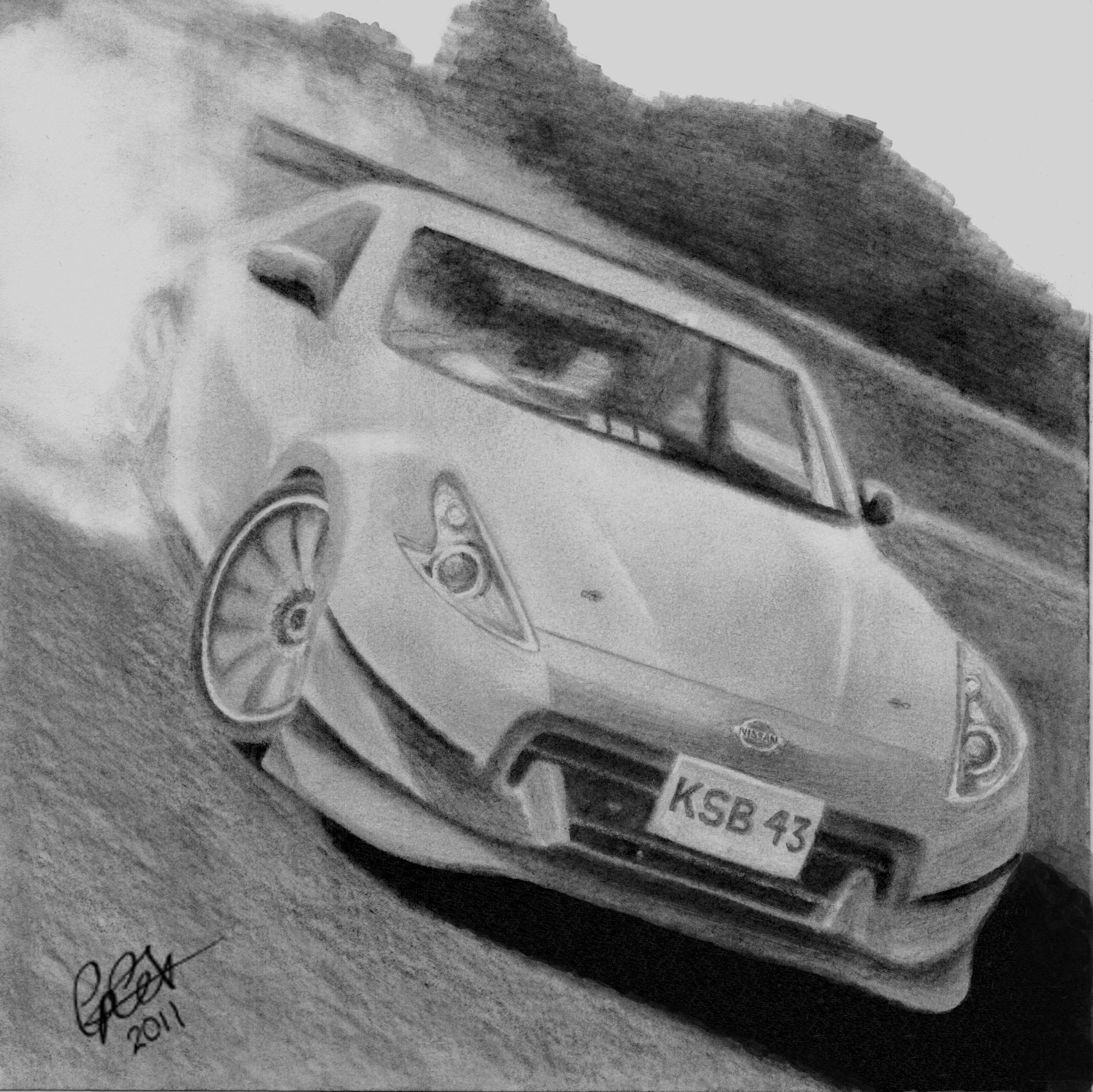 Draw Drift Cars Wallpapers