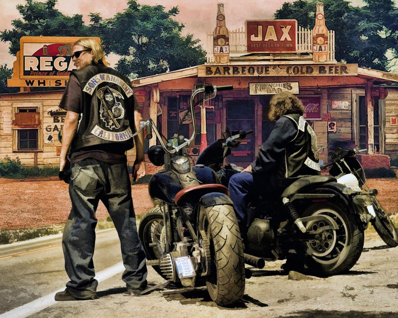 Bikes On Sons Of Anarchy Wallpapers Top Free Bikes On Sons Of