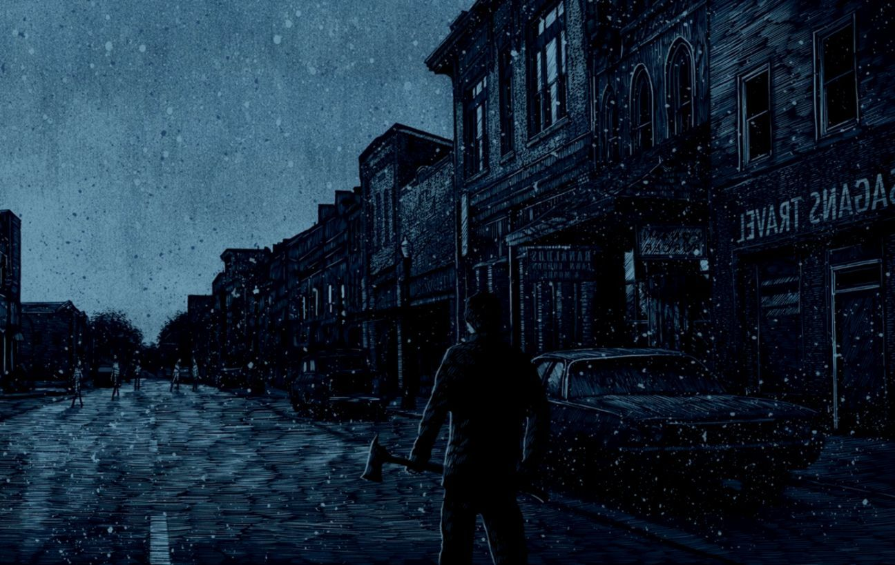 wallpaper silent hill 2 art