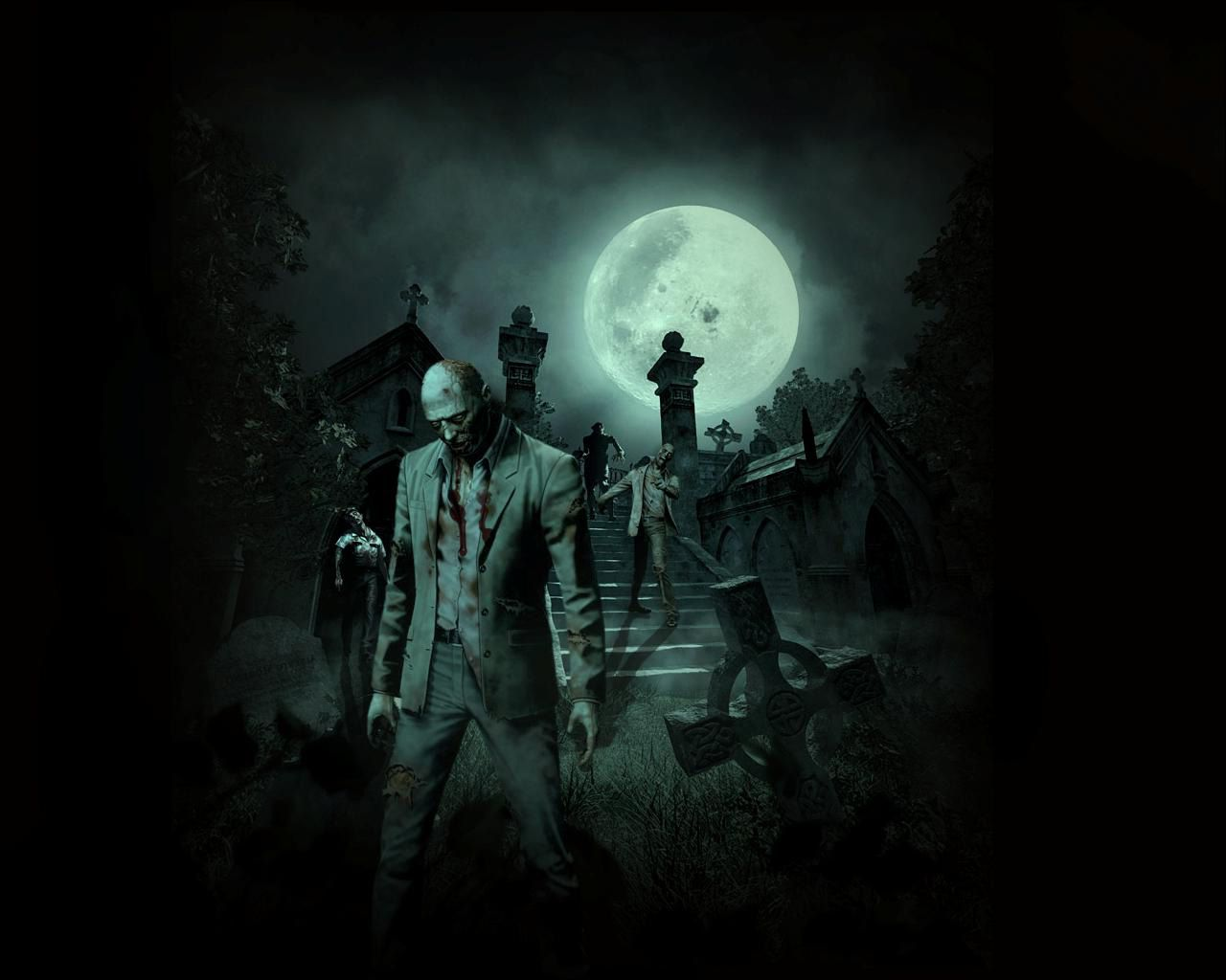 Scary Zombie Wallpapers - Top Free ...