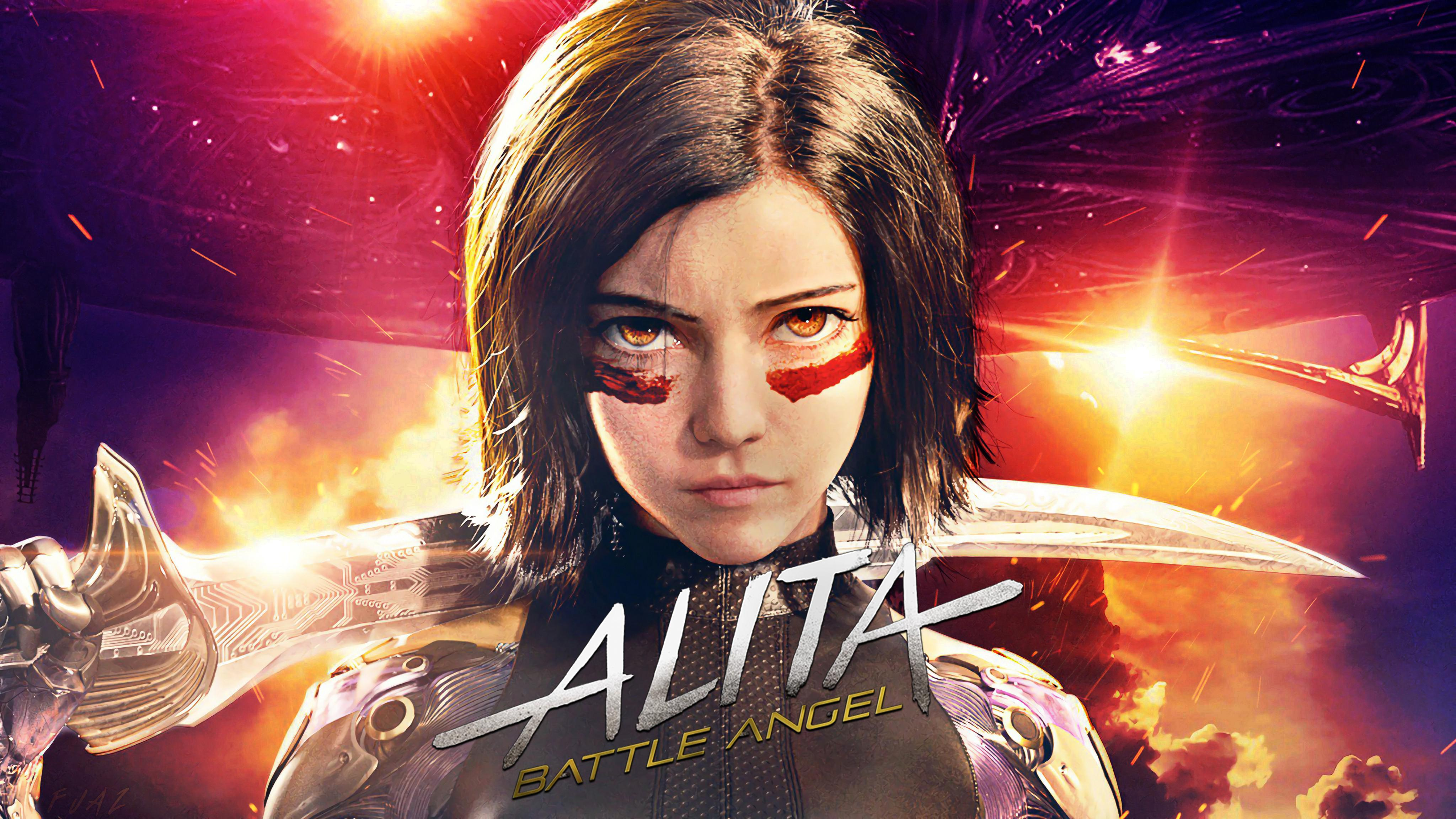 Alita Battle Angel Wallpapers Top Free Alita Battle Angel