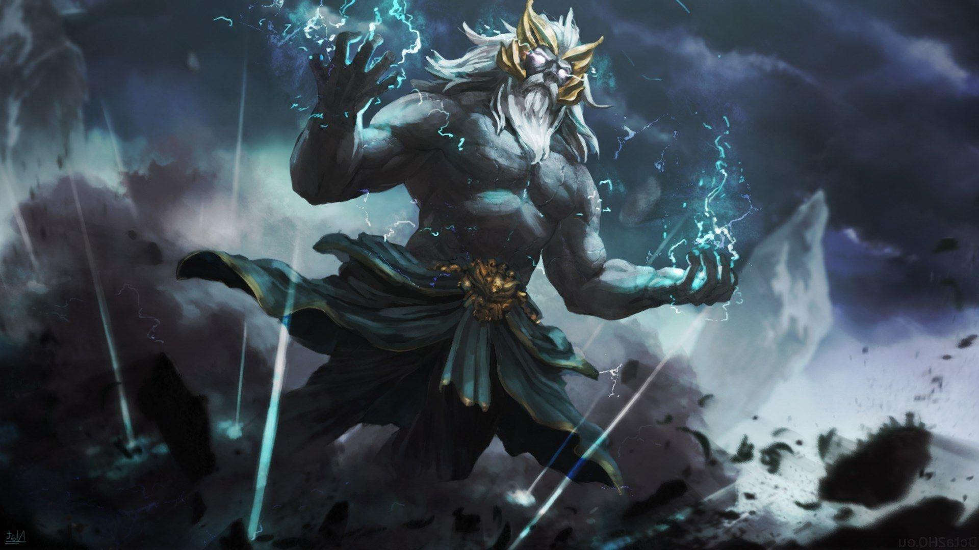 Zeus Wallpapers Top Free Zeus Backgrounds Wallpaperaccess