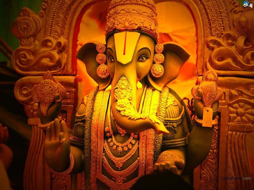 Hình nền độ nét cao 1024x768 của Chúa tể Ganesha cho PC của bạn