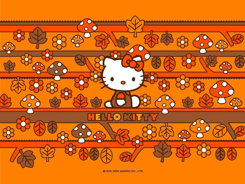 Hello Kitty Fall Wallpapers Top Free Hello Kitty Fall Backgrounds Wallpaperaccess