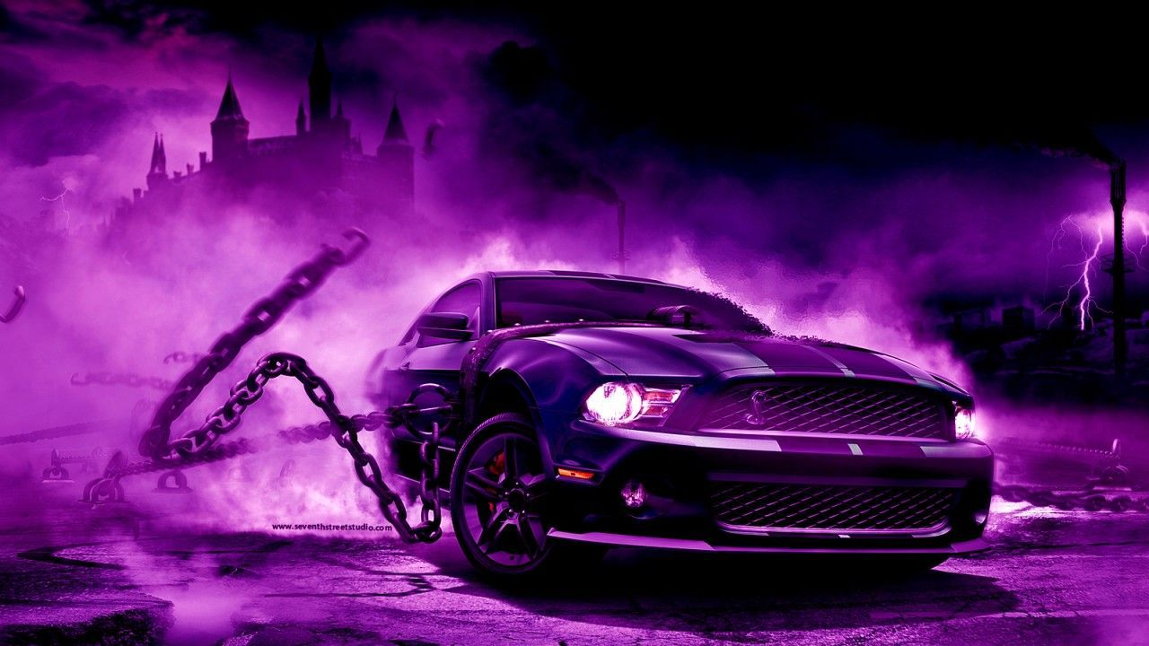Purple Car Wallpapers Top Free Purple Car Backgrounds Wallpaperaccess