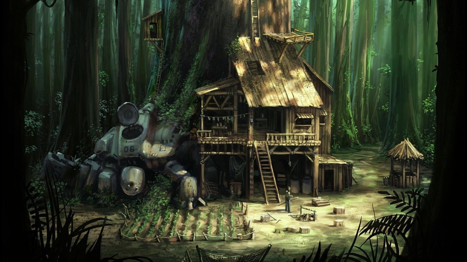 Treehouse Wallpapers Top Free Treehouse Backgrounds