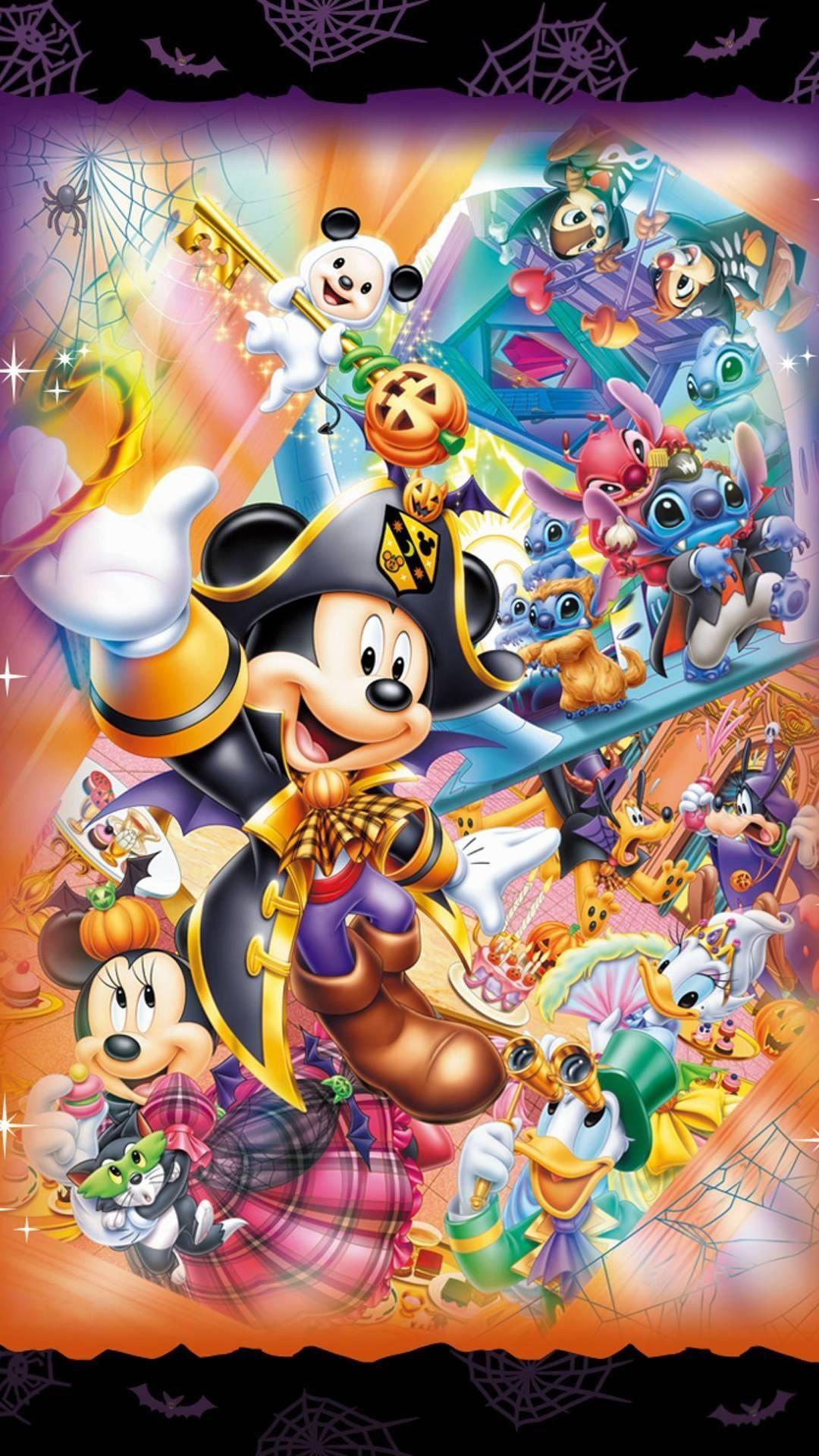 Cute Disney Halloween Iphone Wallpapers Top Free Cute Disney Halloween Iphone Backgrounds Wallpaperaccess