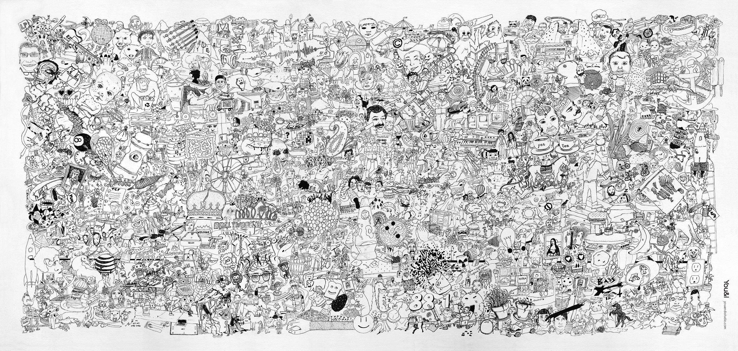 2520x1200 Vẽ hình nền