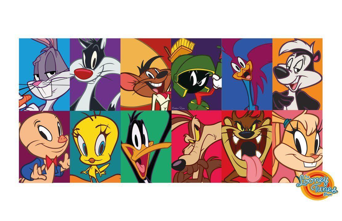 персонажи луни тюнз картинки персонажей сходство конструкций