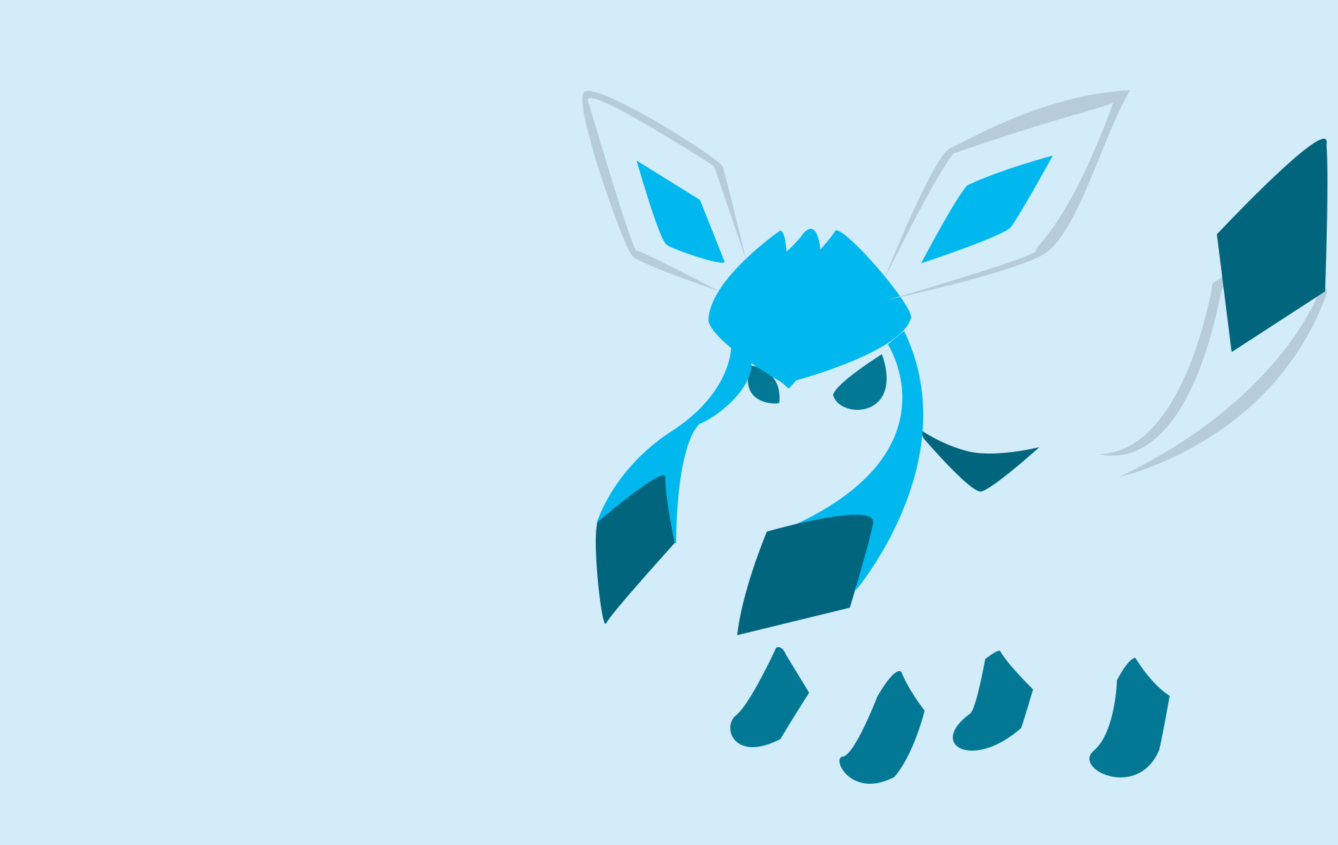 Glaceon Wallpapers Top Free Glaceon Backgrounds Wallpaperaccess