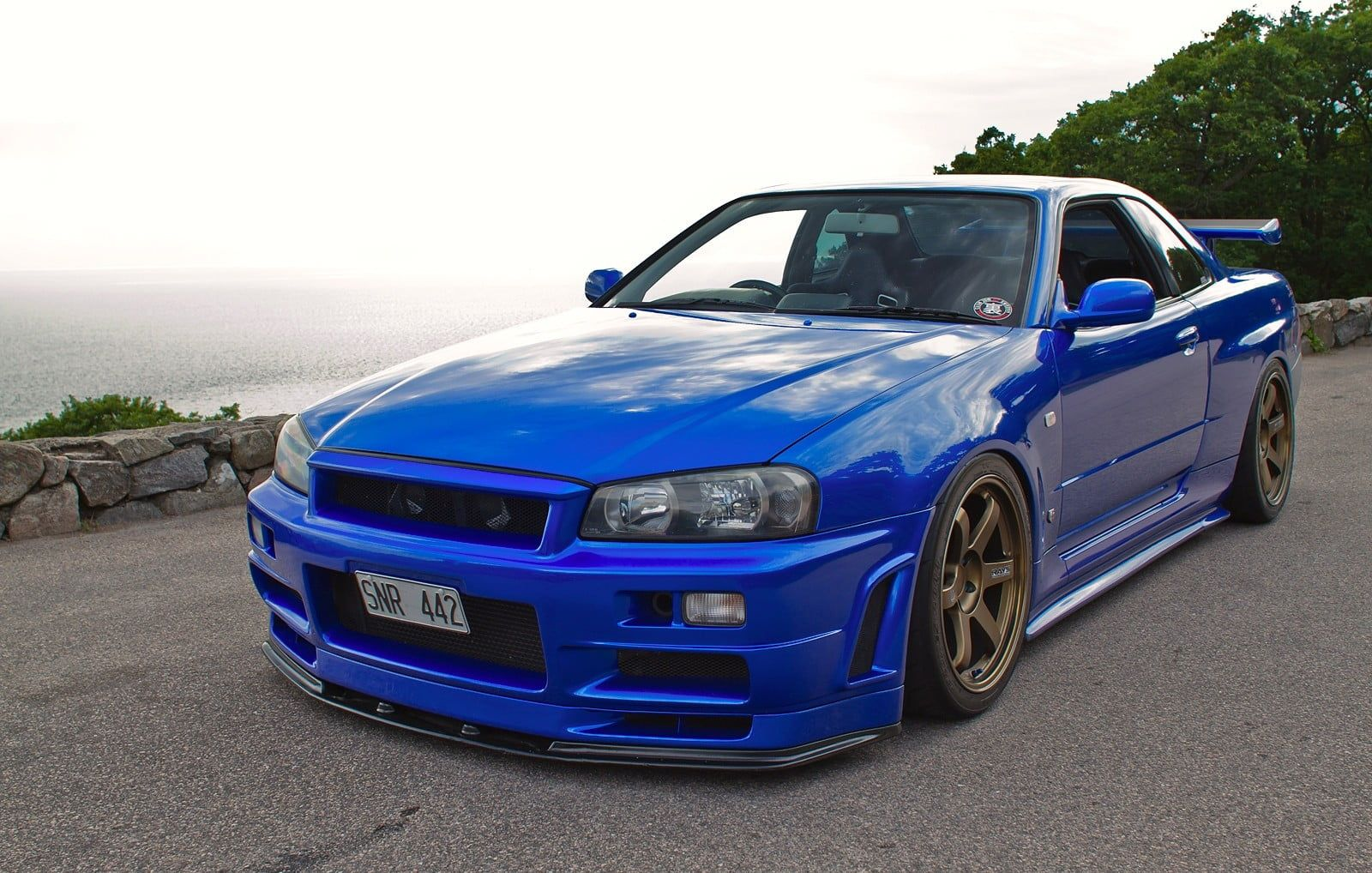 Blue Nissan Skyline R34 Wallpapers - Top Free Blue Nissan ...