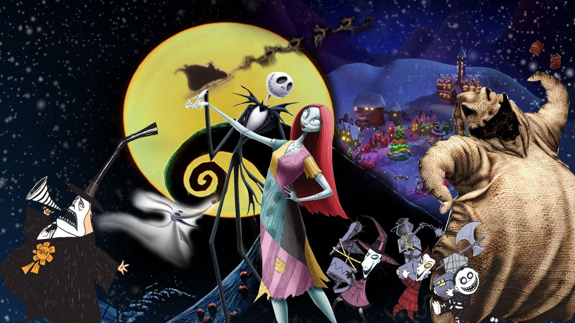 The Nightmare Before Christmas Wallpapers Top Free The