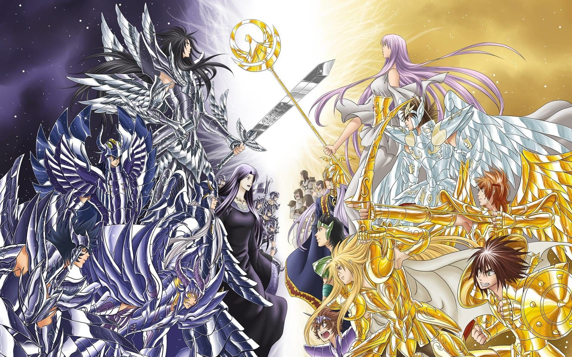 Saint Seiya The Lost Canvas Wallpapers Top Free Saint Seiya