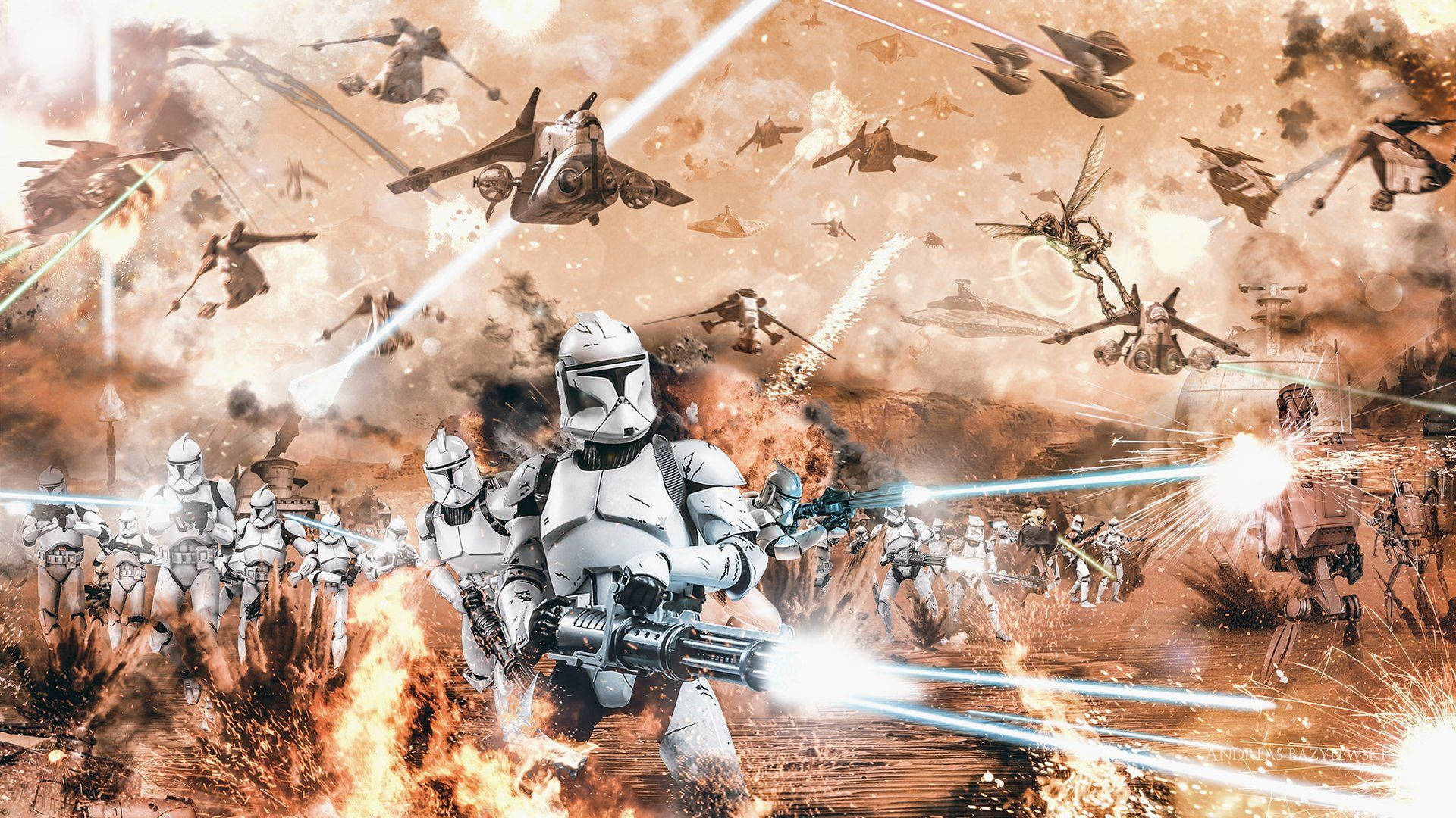 Star Wars Clone Troopers Wallpapers Top Free Star Wars Clone