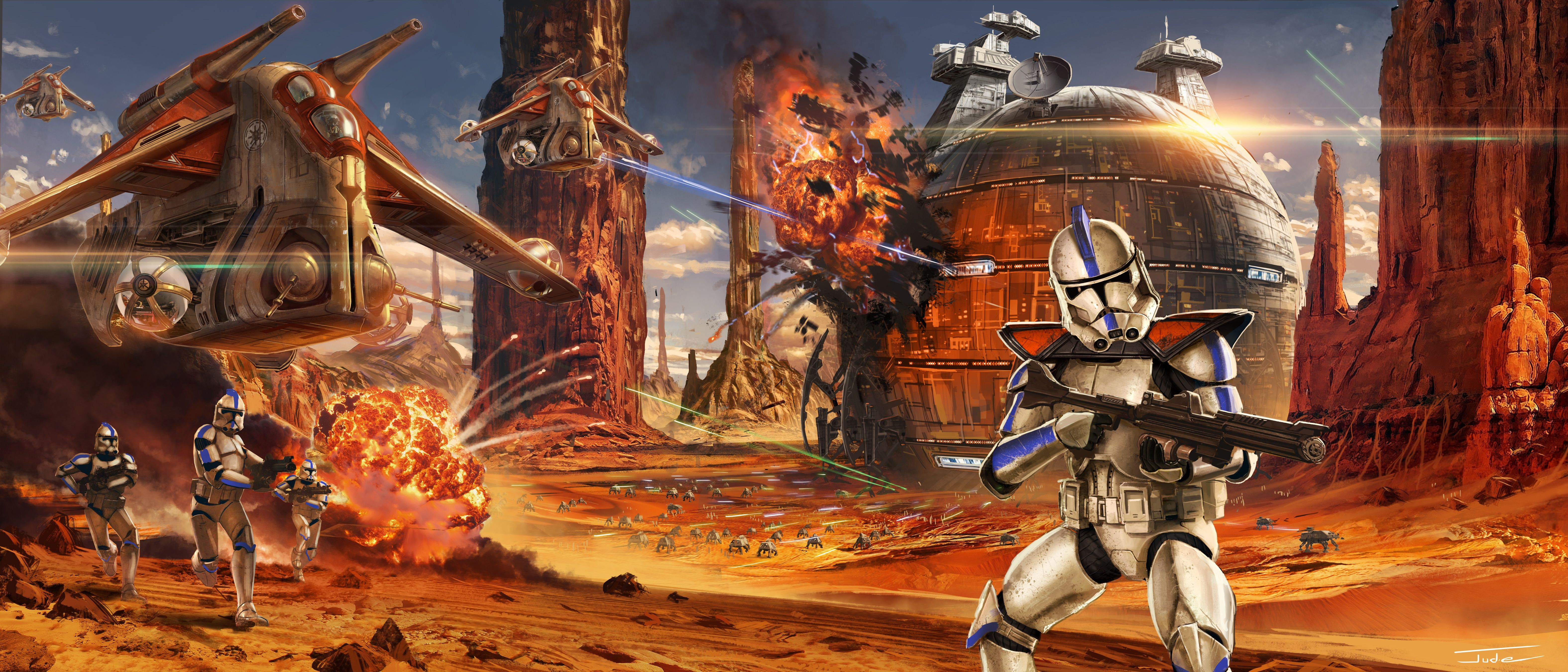 Star Wars The Clone Wars Wallpapers Top Free Star Wars The Clone Wars Backgrounds Wallpaperaccess